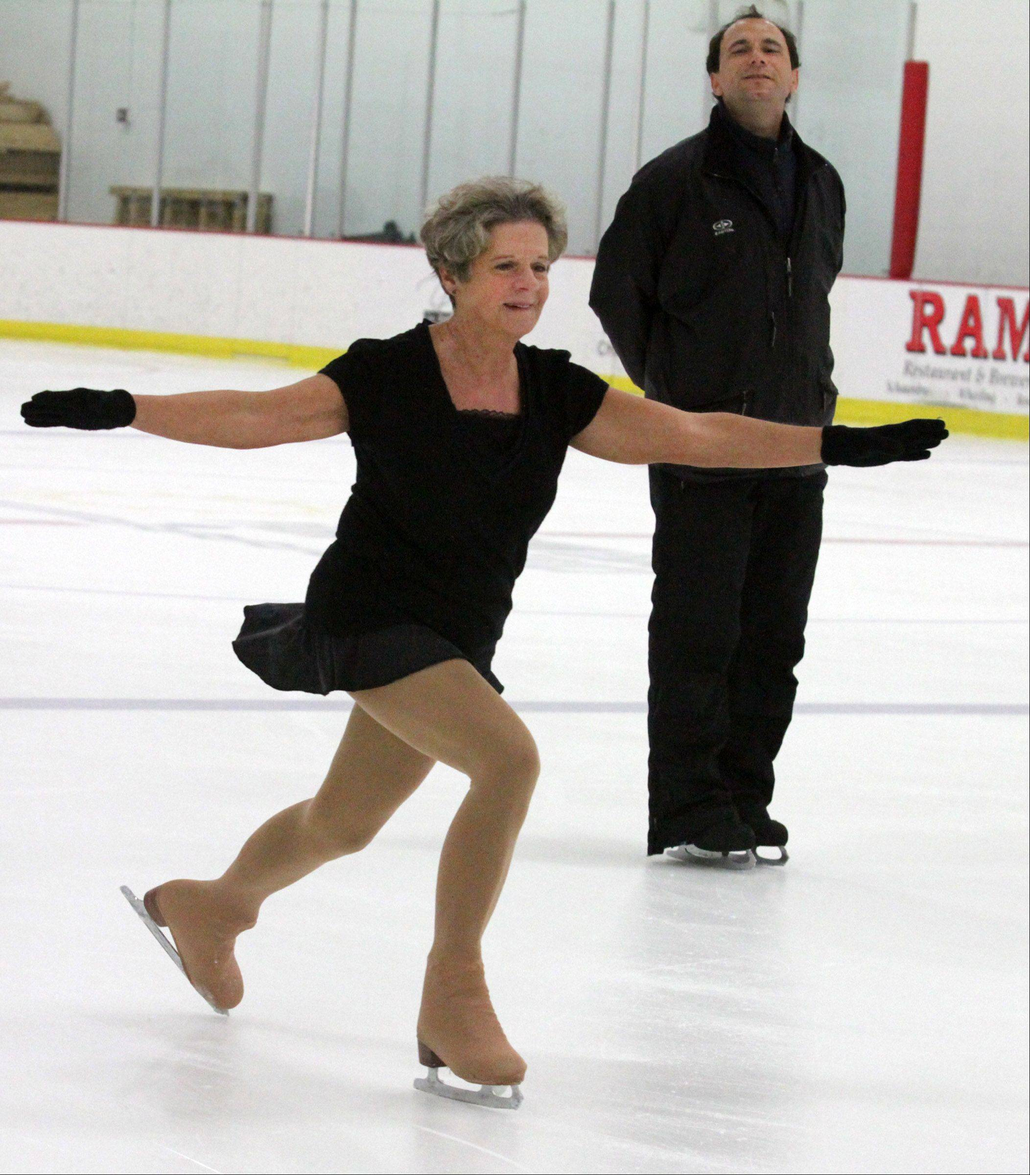 Mary Ellen Gabler trains with former Russian skater Oleg Podvalny, who also coaches Gracie Gold, the reigning U.S. silver medalist.