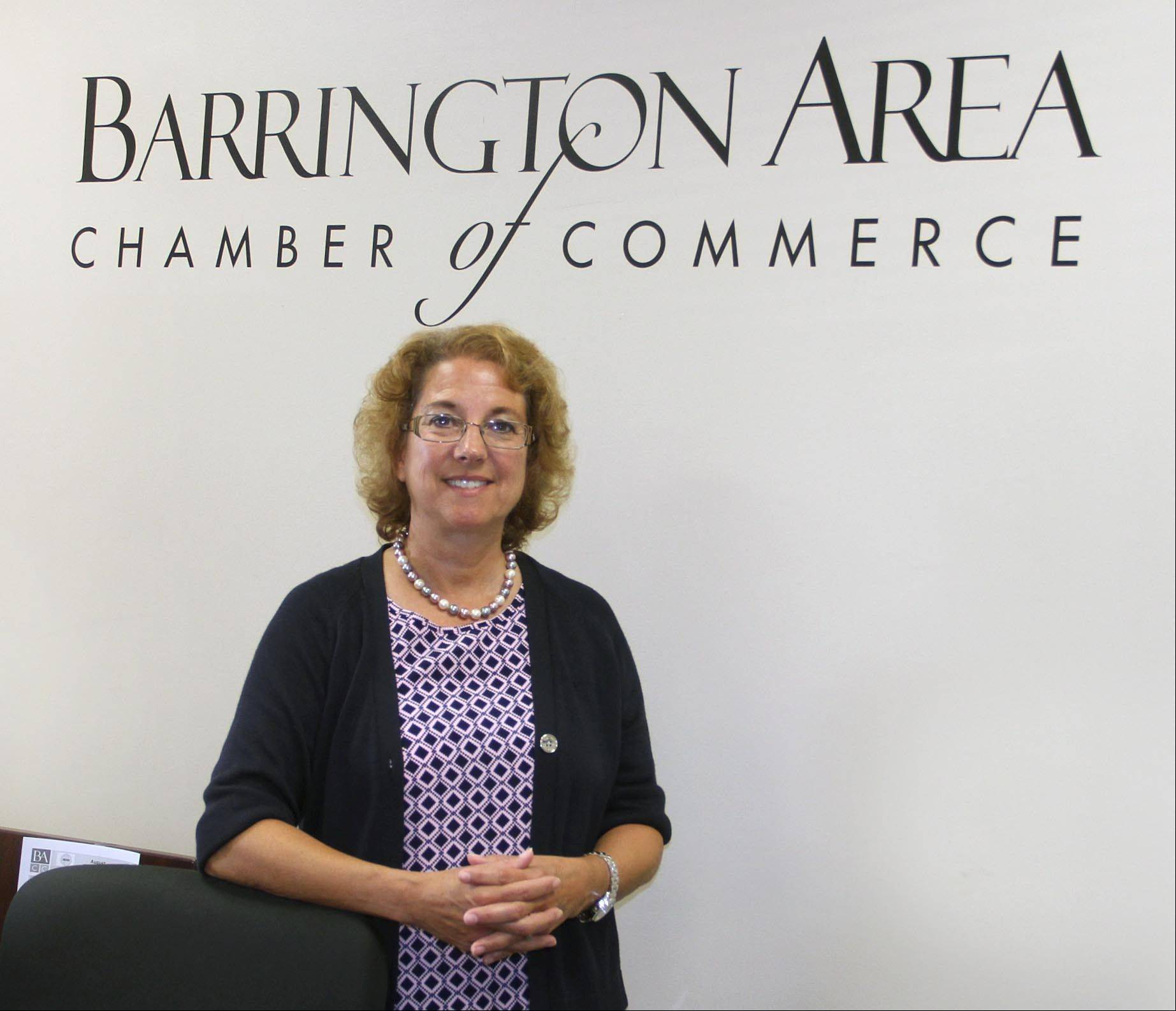 Suzanne Corr, executive director for the Cary Grove Area Chamber of Commerce, has been hired as president of the Barrington Area Chamber of Commerce.