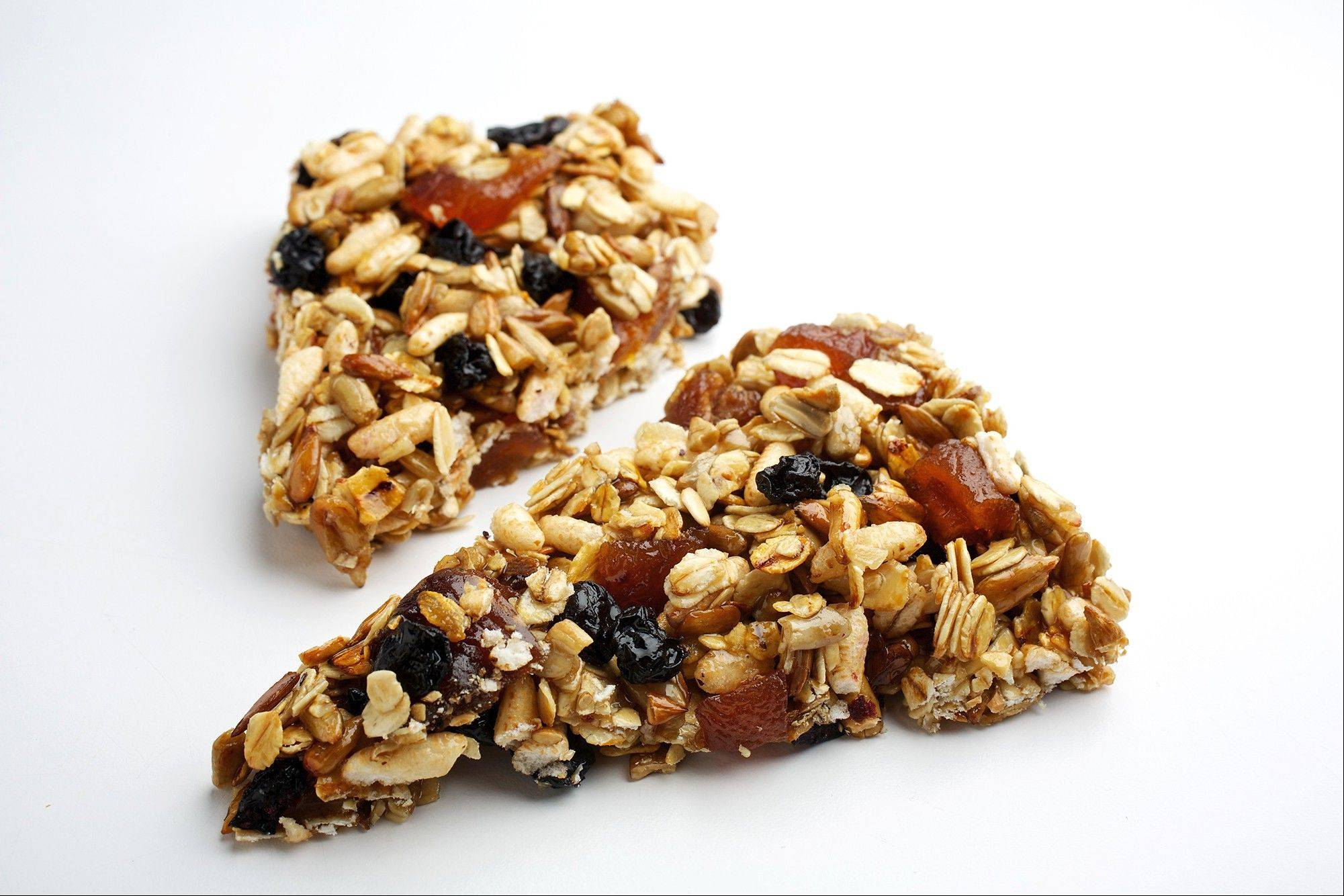 Granola wedges are a chewy, crunchy and gluten-free snack made with all whole foods.