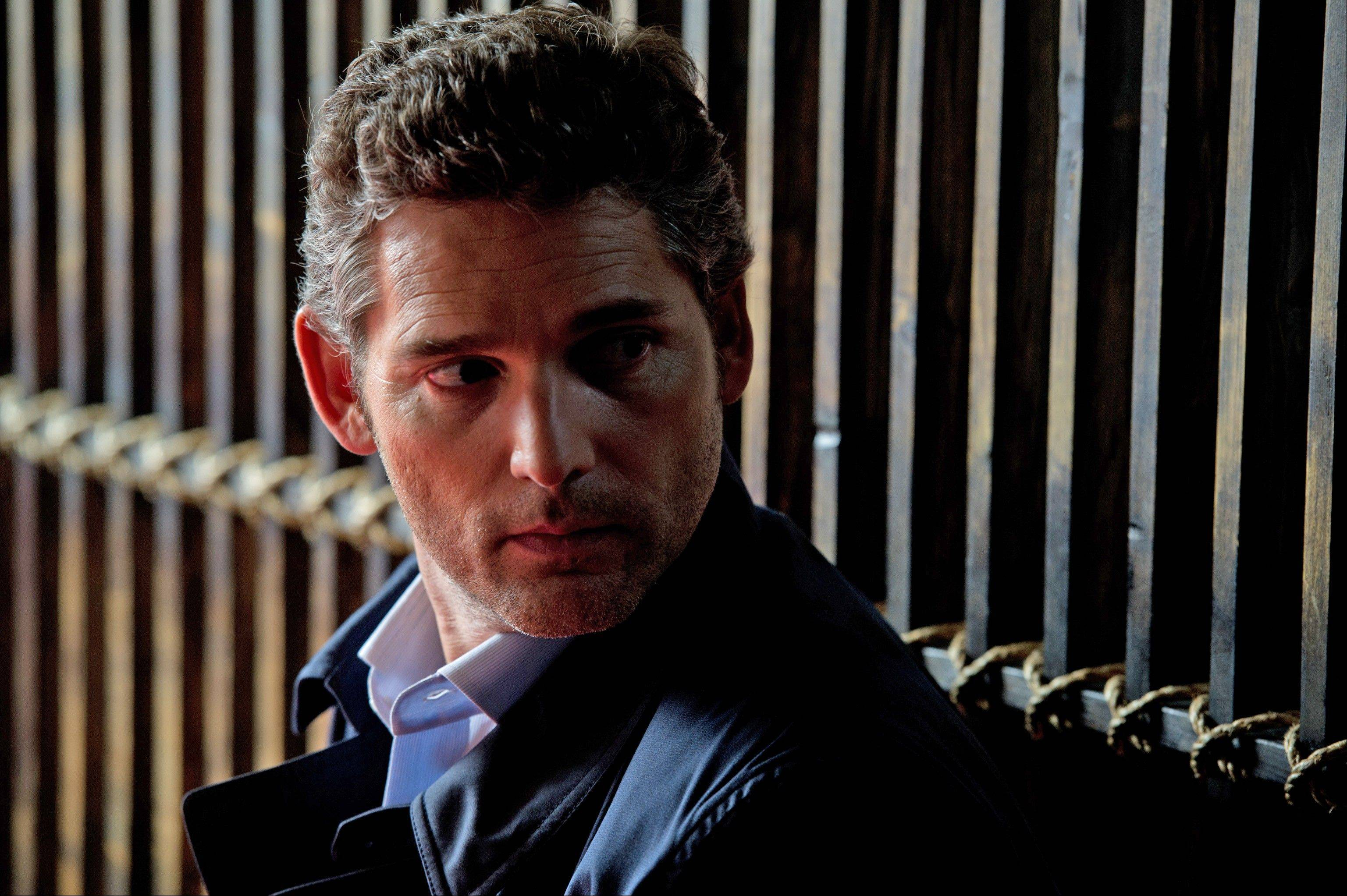 "Eric Bana plays Martin Rose, a lawyer ensnared in a legal case surrounding a horrible terror attack, in ""Closed Circuit."""
