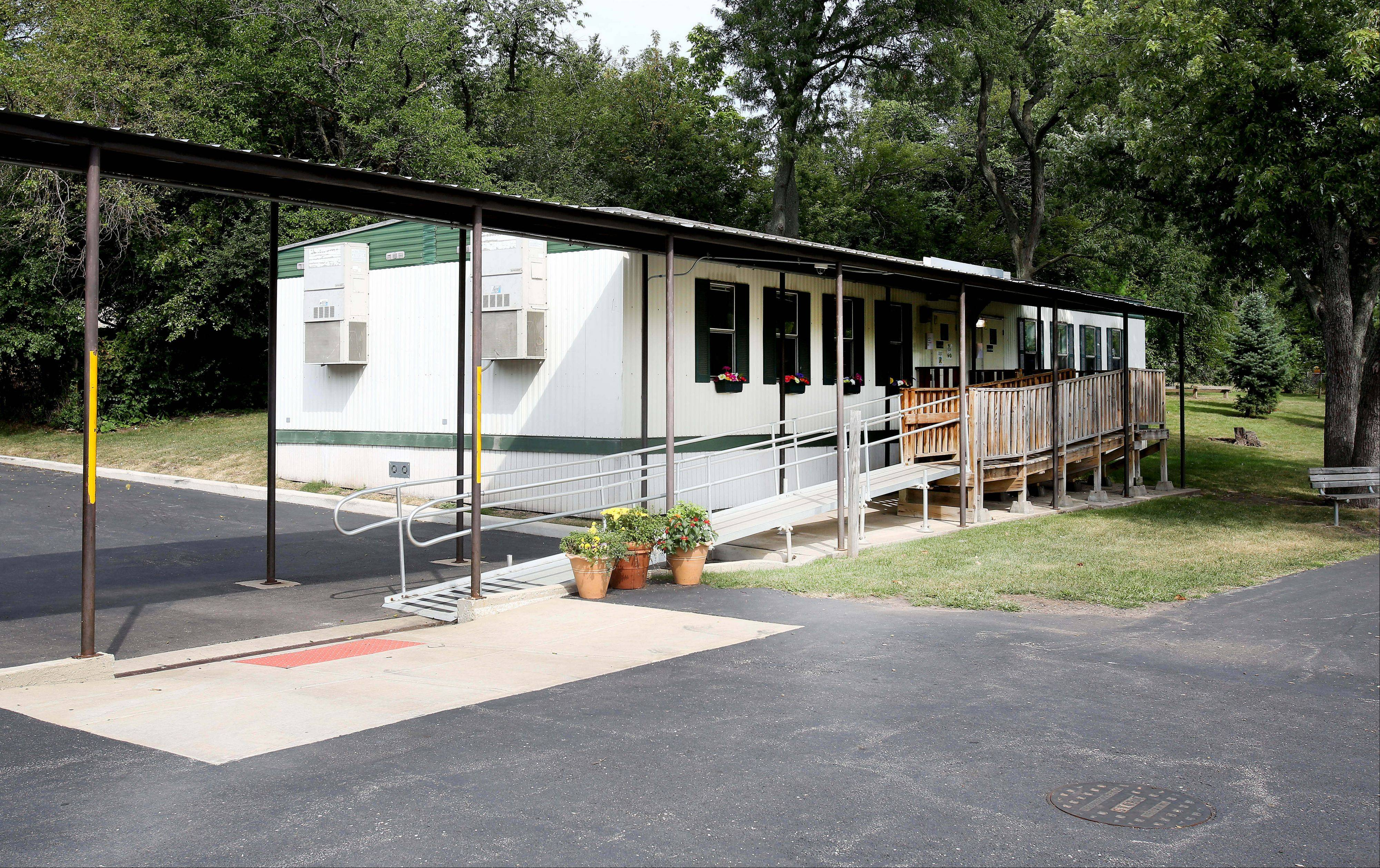 A portable classroom at Abraham Lincoln Elementary School in Glen Ellyn remains closed this week because it was found to be infested with gnats.
