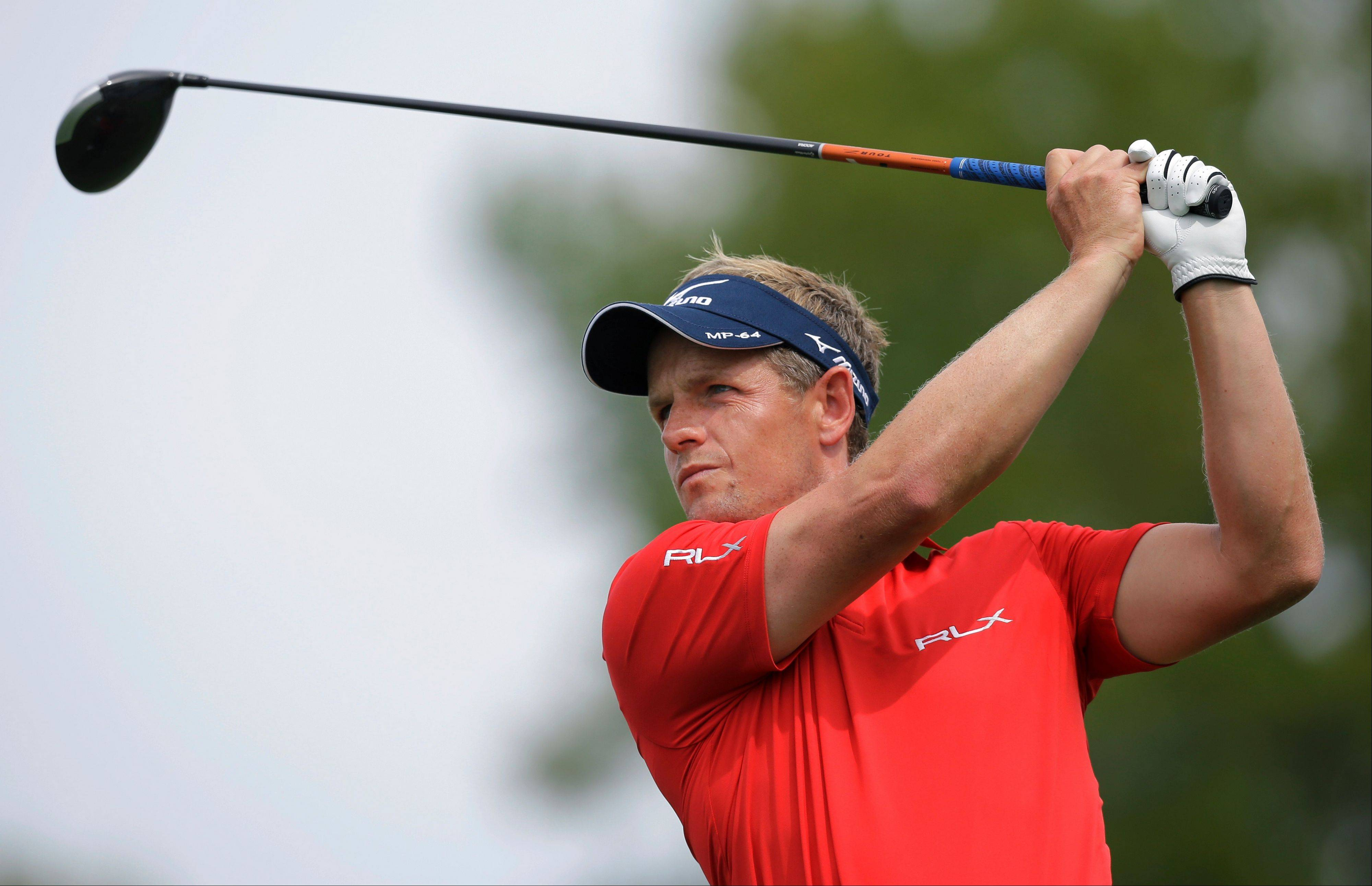 If Luke Donald misses the cut at the Deutsche Bank Championships, he might not qualify next month to play in the BWM Championship at Conway Farms, his home course.