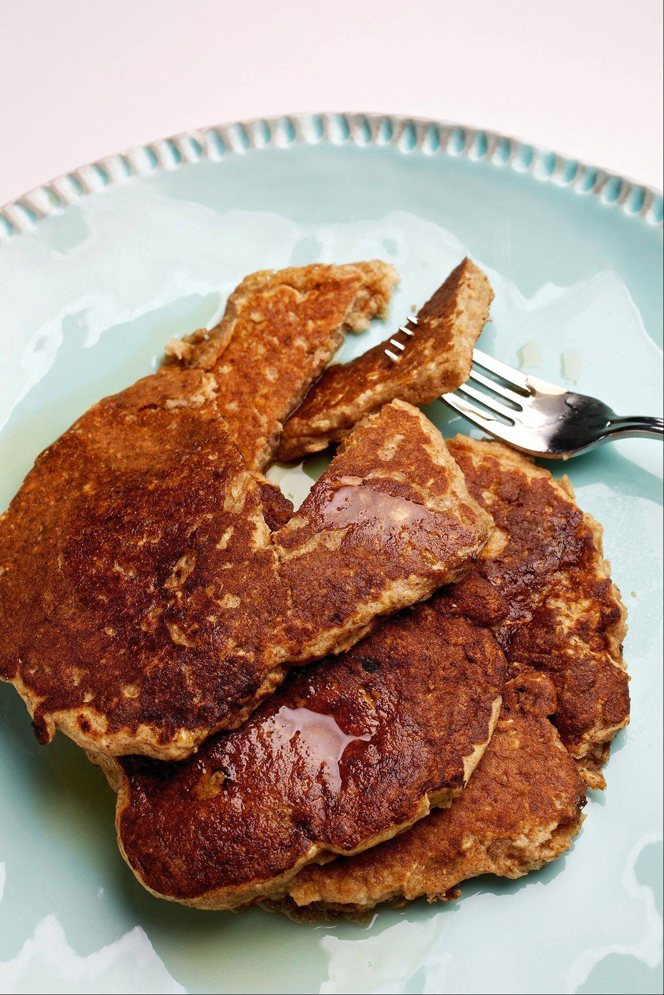 Reheat whole-wheat pancakes in the toaster for a quick, kid-friendly breakfast.
