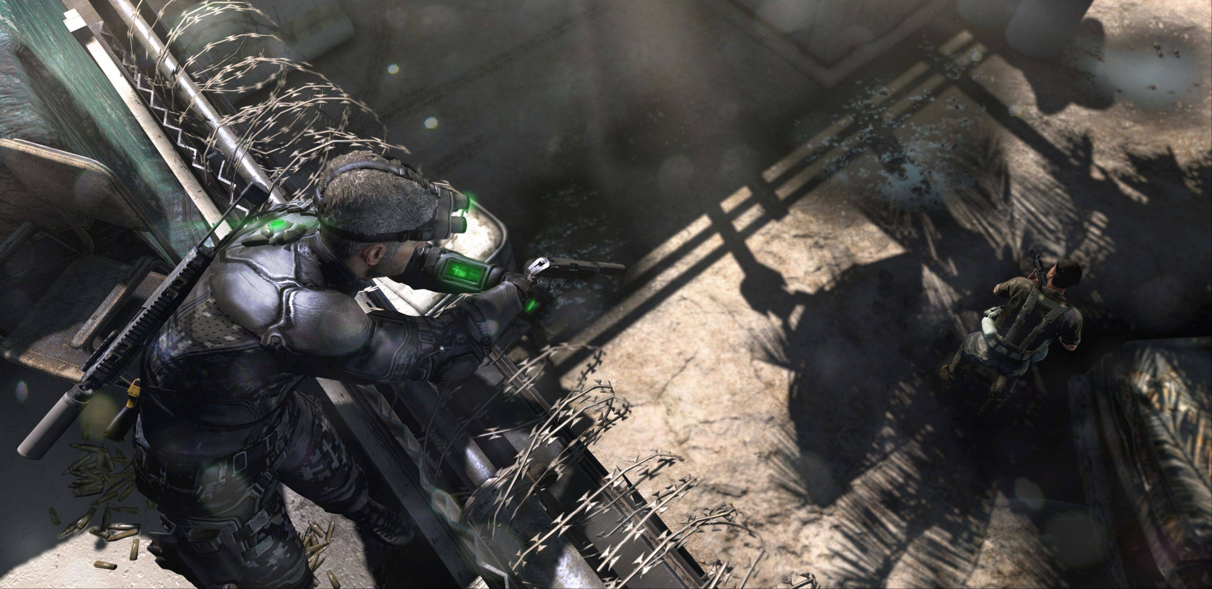 "The most effective weapon in ""Tom Clancy's Splinter Cell: Blacklist"" is Sam Fisher, the grizzled black-ops agent who's been saving civilization since the series began in 2002."