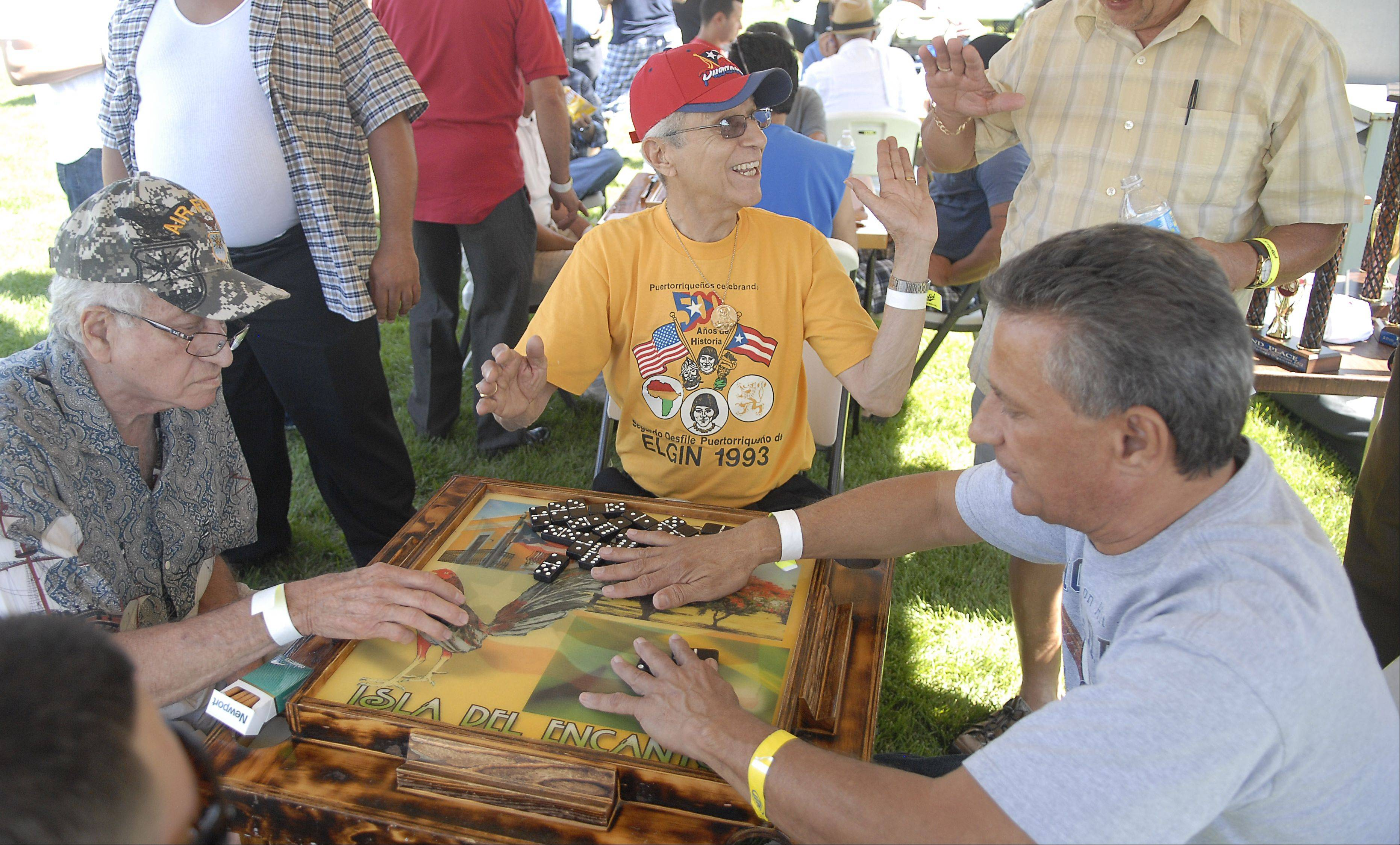 Saturday's Elgin International Festival, or iFest, will include a domino tournament organized by the Puerto Rican Heritage Organization, which held its own fest last year but will be part of iFest. The festival is Saturday at Festival Park.