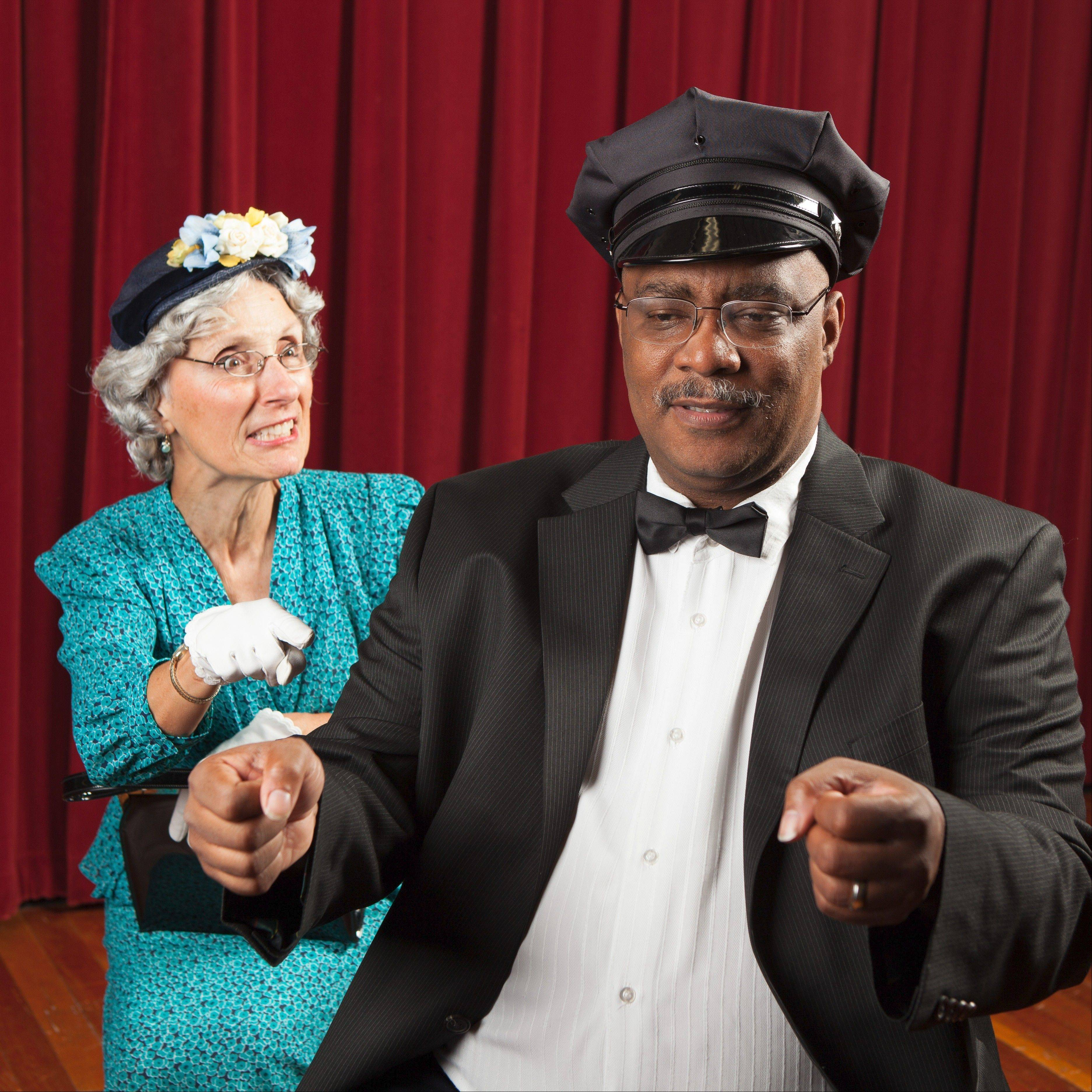 Alice Brown (left) as Daisy and Dwight Brown (right) as Hoke.
