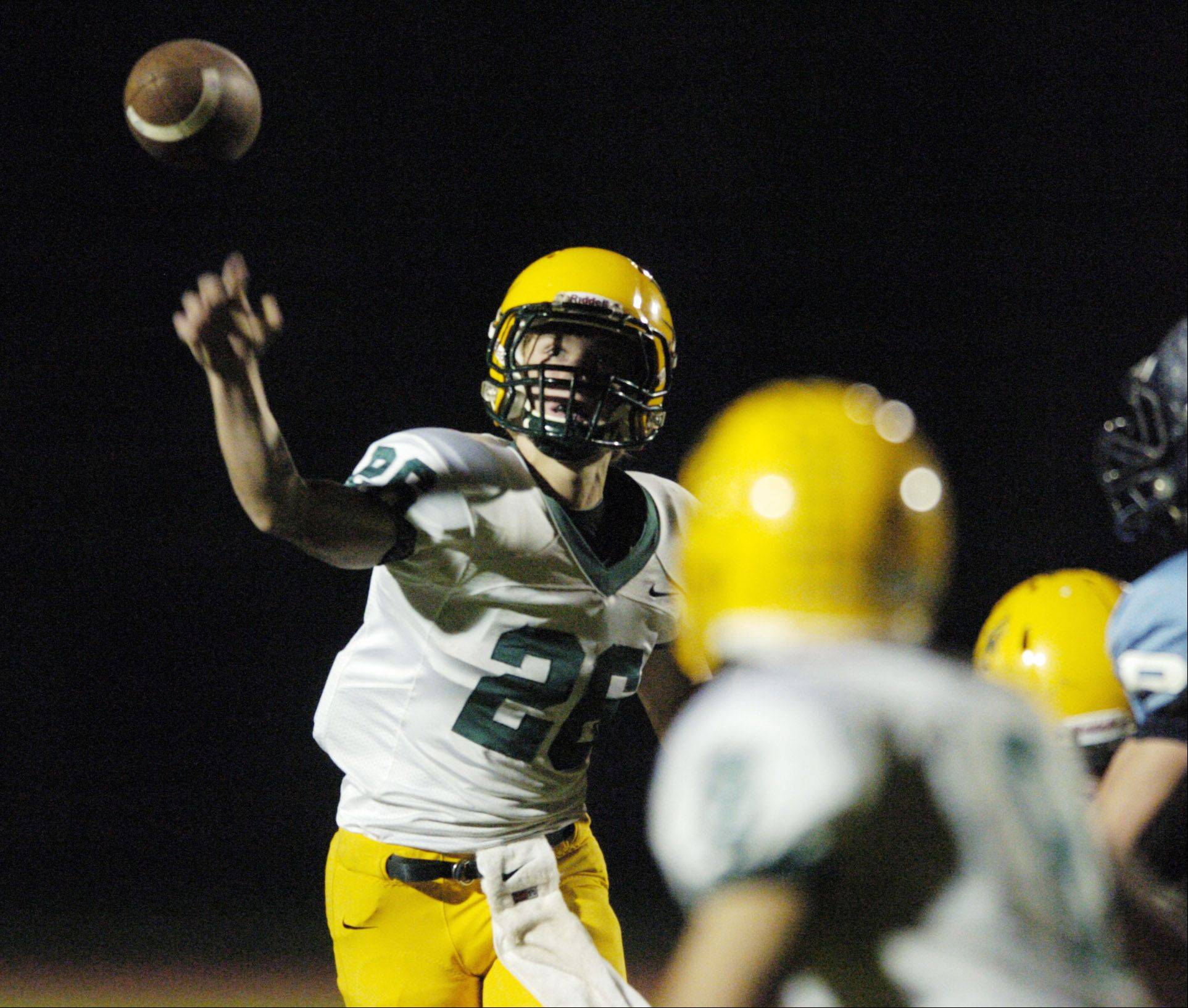 Quarterback Adam O�Malley brings a wealth of experience to the starting lineup for Elk Grove.