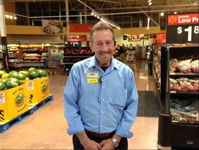 "Mike Morrison, manager of the Batavia Walmart Supercenter, says of the revamped store: ""I don't know why anybody would want to go anywhere else. You can get everything you want here."""
