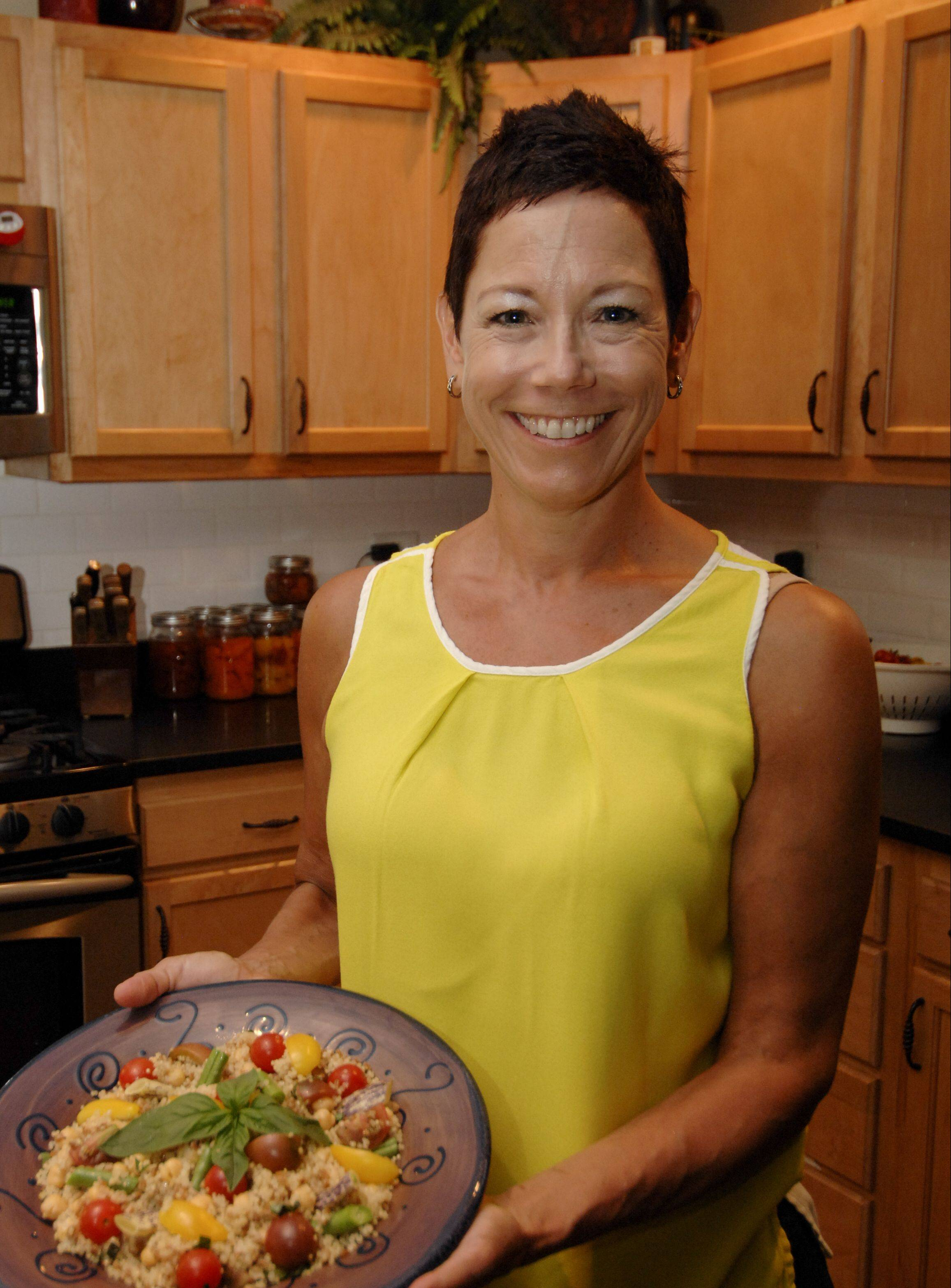 Lori Motyka of West Chicago loves quinoa for breakfast, lunch or dinner. She's one of 16 home cooks in the Daily Herald Cook of the Week Challenge.
