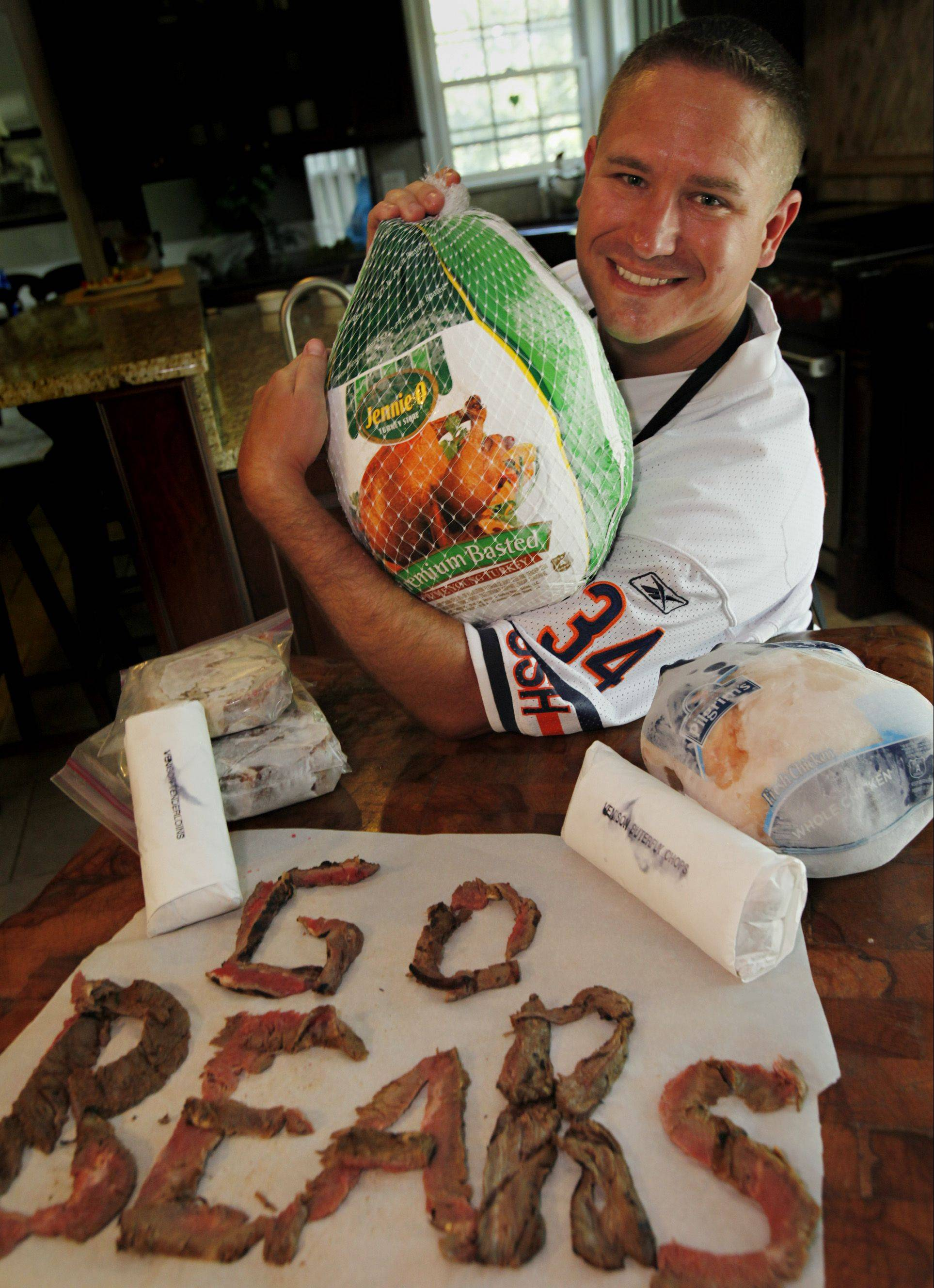 Jeff Zilch of Fox River Grove loves to cook with meat, any kind of meat.