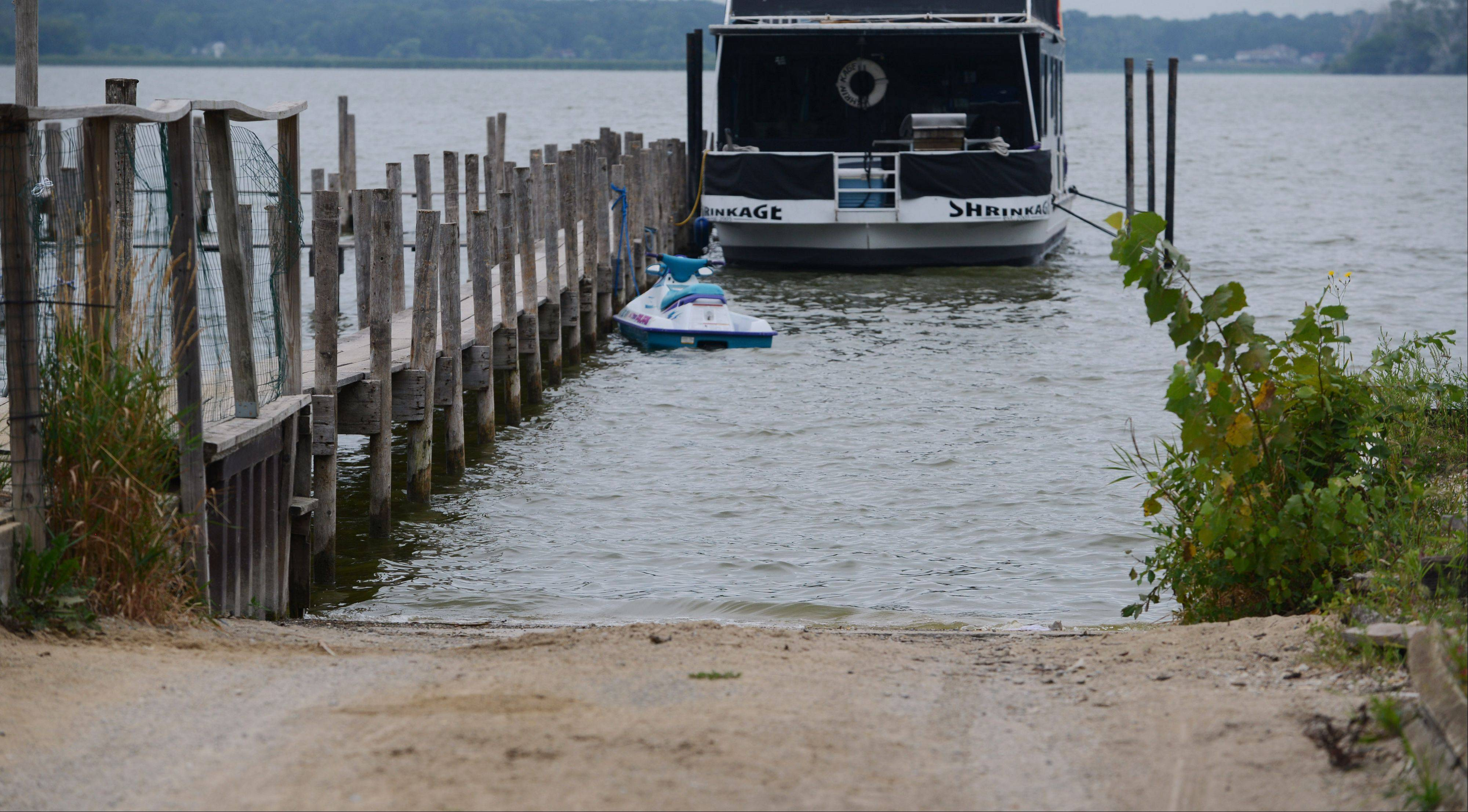 A 9-year-old Round Lake girl drowned near a boat launch at Stormy Monday bar in Ingleside Tuesday evening.