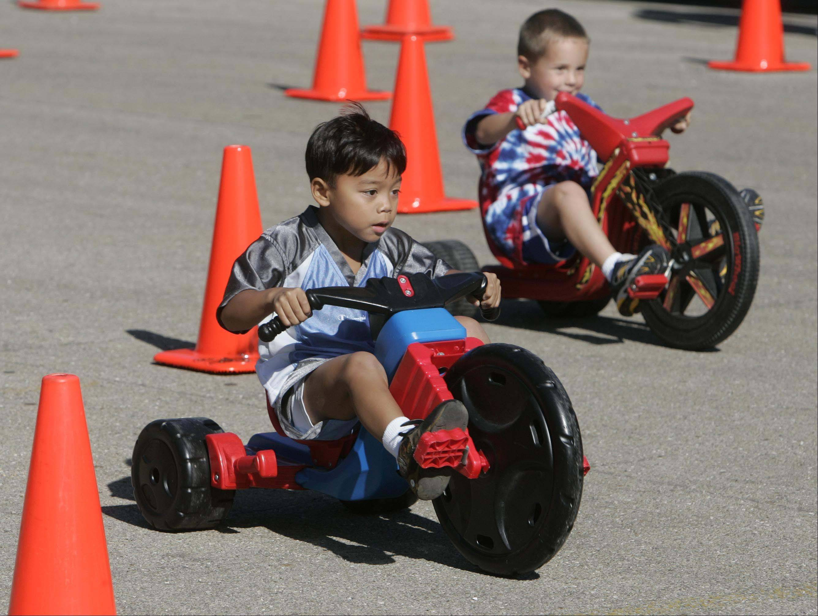 Big Wheel races, bed races, a diaper derby and several eating contests are among quirky competitions to be offered at the Naperville Jaycees' annual Last Fling from Friday to Monday.