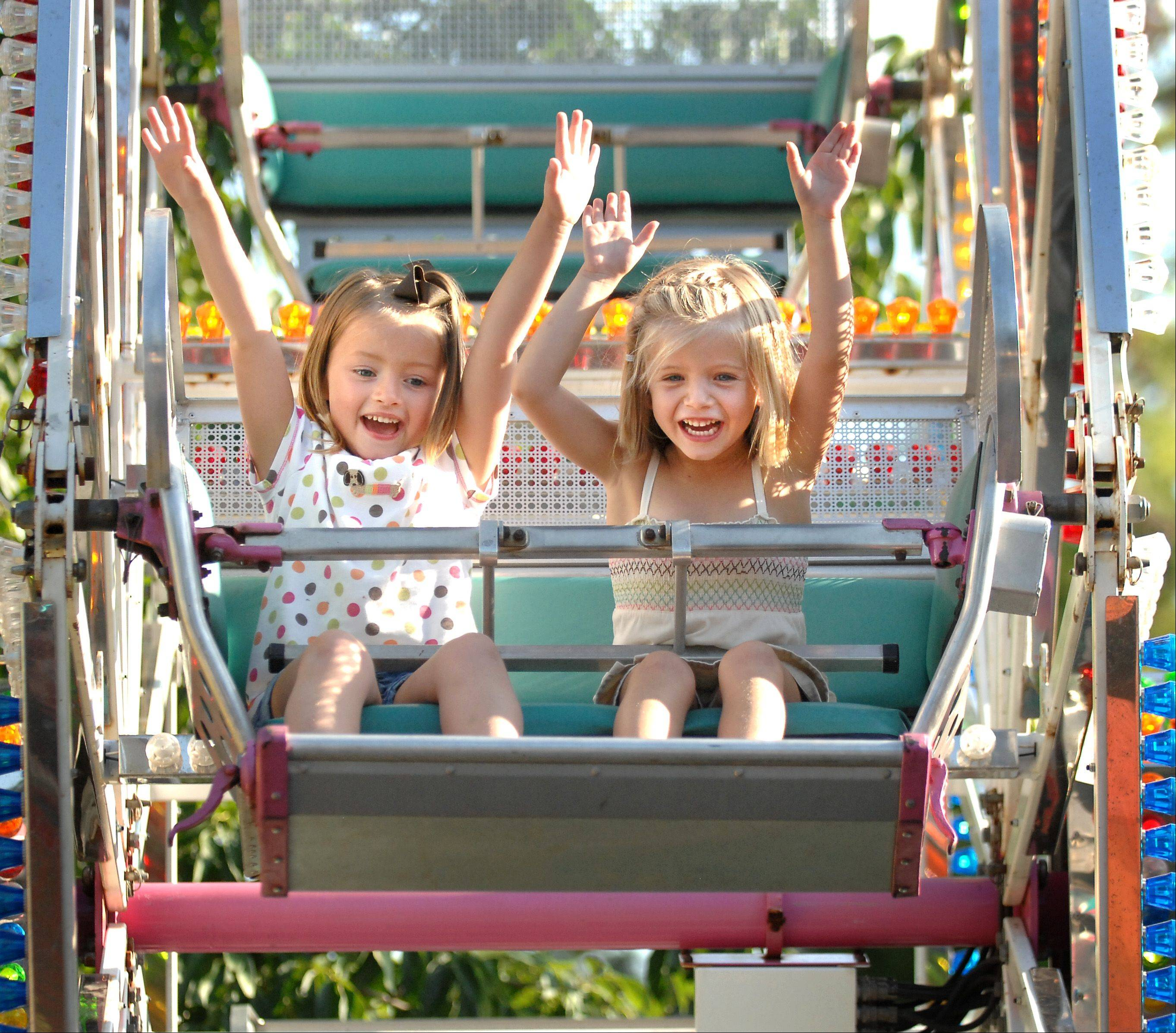 The carnival at the Last Fling festival in Naperville will be set up inside Family Fun Land at the Naper Settlement, 523 S. Webster St.