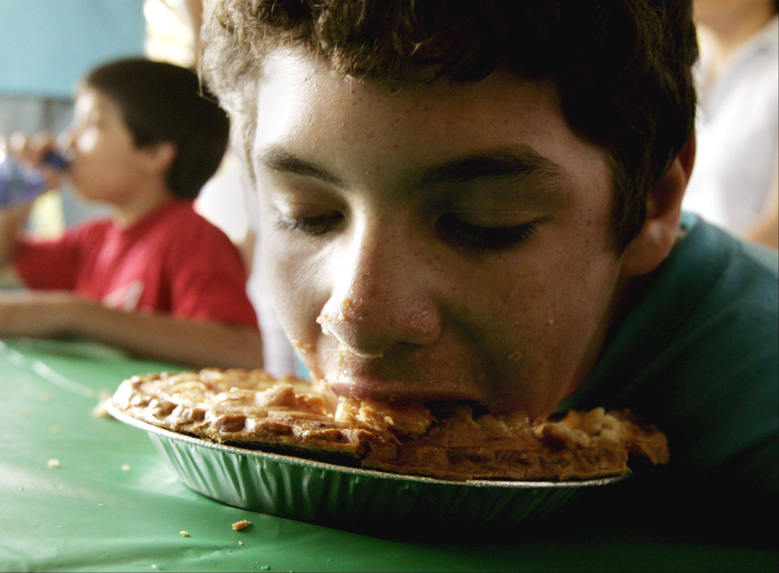 Eating contests featuring pies, ice cream and spaghetti are part of the fun at the Naperville Jaycees annual Last Fling, which begins at 6 p.m. Friday.