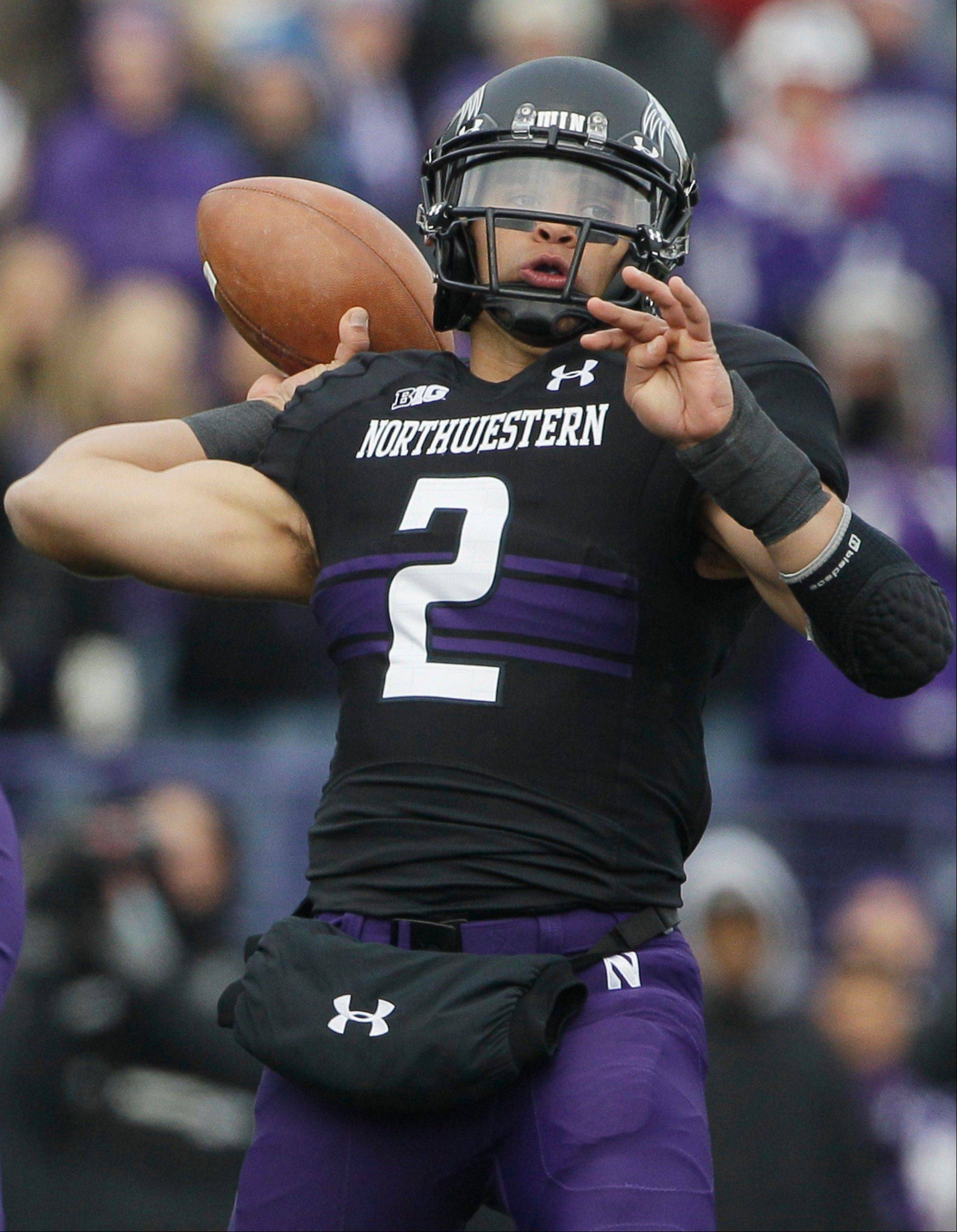 Quarterback Kain Colter and the Northwestern Wildcats open their season Saturday night on the road against the Cal Bears.