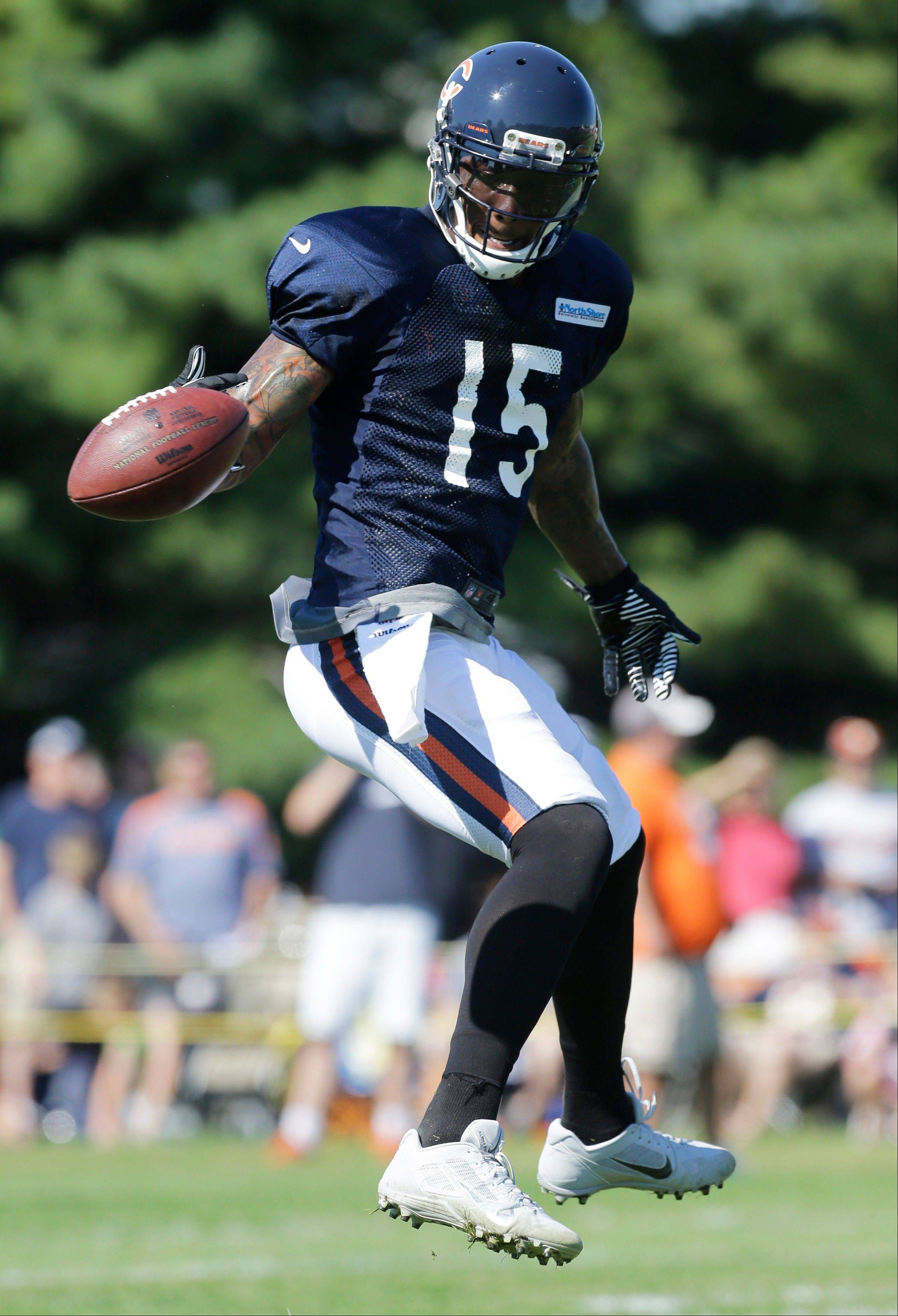 "Bears wide receiver Brandon Marshall is not expected to return to practice until Monday. ""It's all good,"" said Bears coach Marc Trestman. ""I let him go for personal reasons,"""