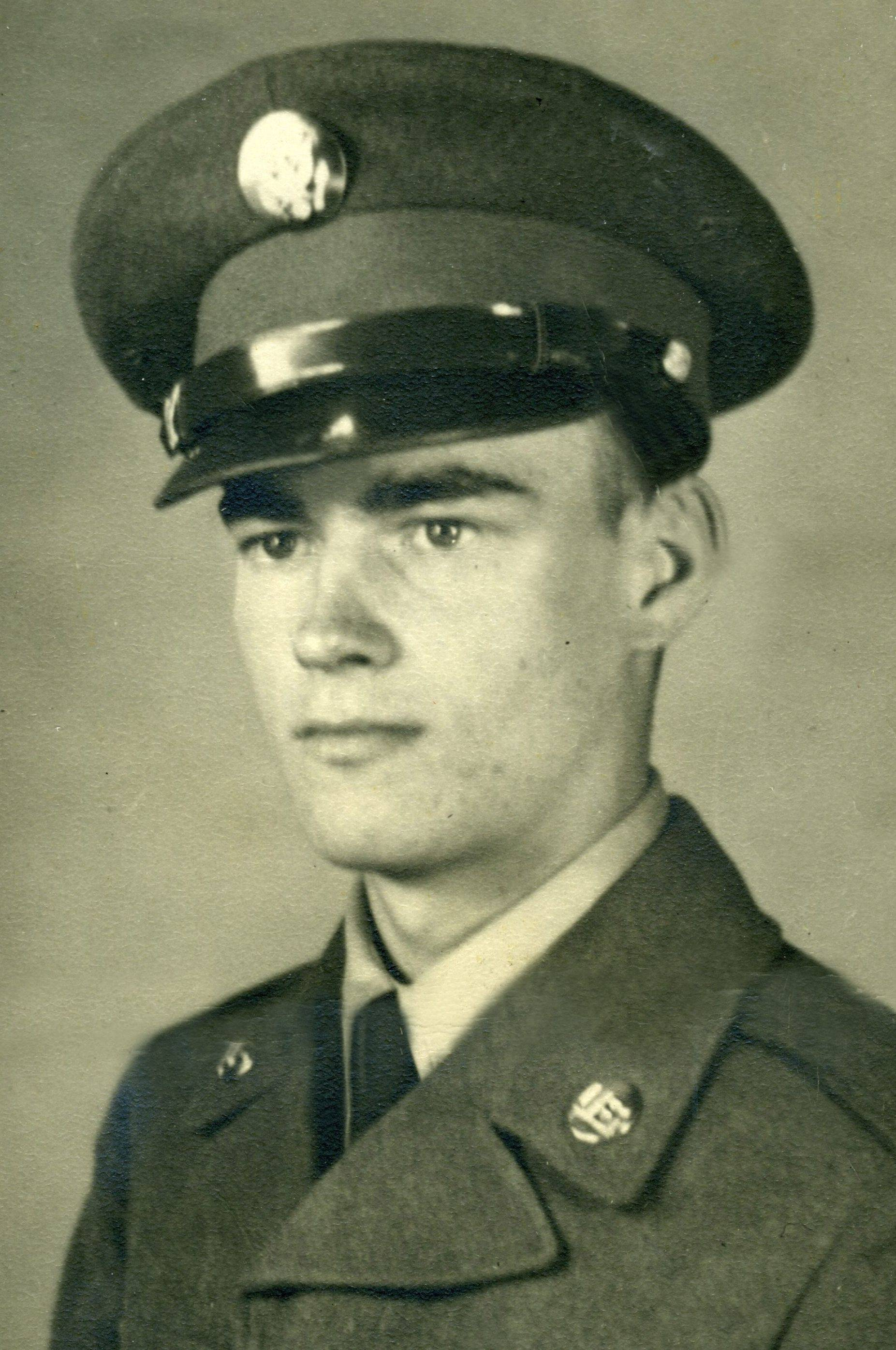 Donald V. MacLean went to the Korean War as a private first class in 1950.