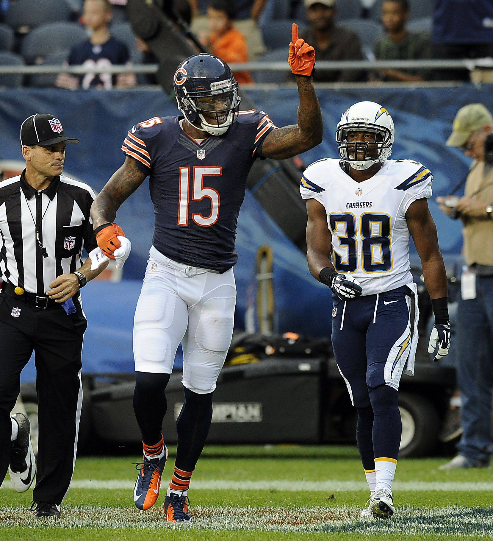 Mike Spellman, as well as most Bears fans, would like to know what's up with Bears wide receiver Brandon Marshall.