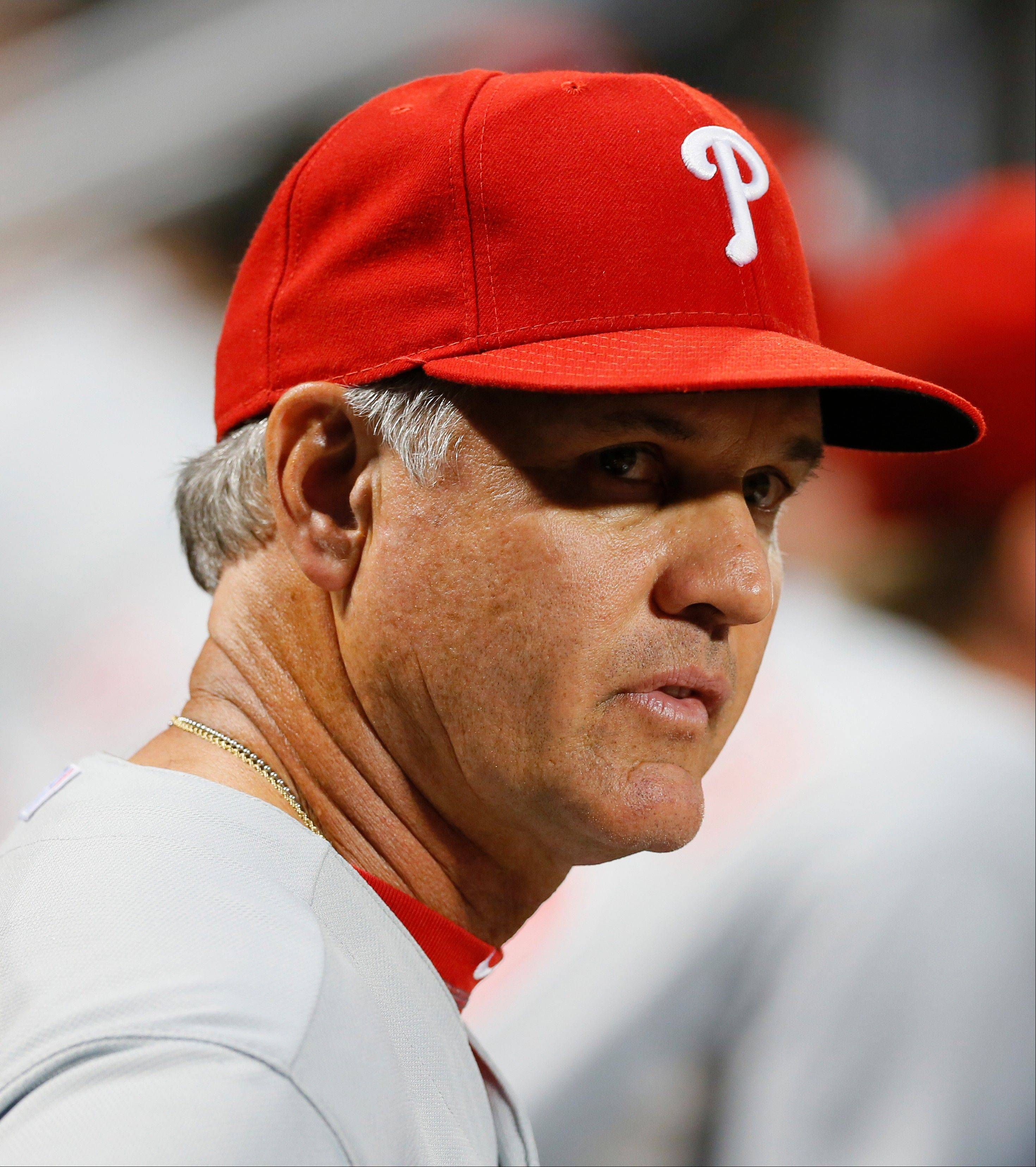 Ryne Sandberg, Cubs Hall of Famer and now Phillies interim manager, returns to Wrigley Field on Friday for the first time in uniform since retiring as a player in 1997.