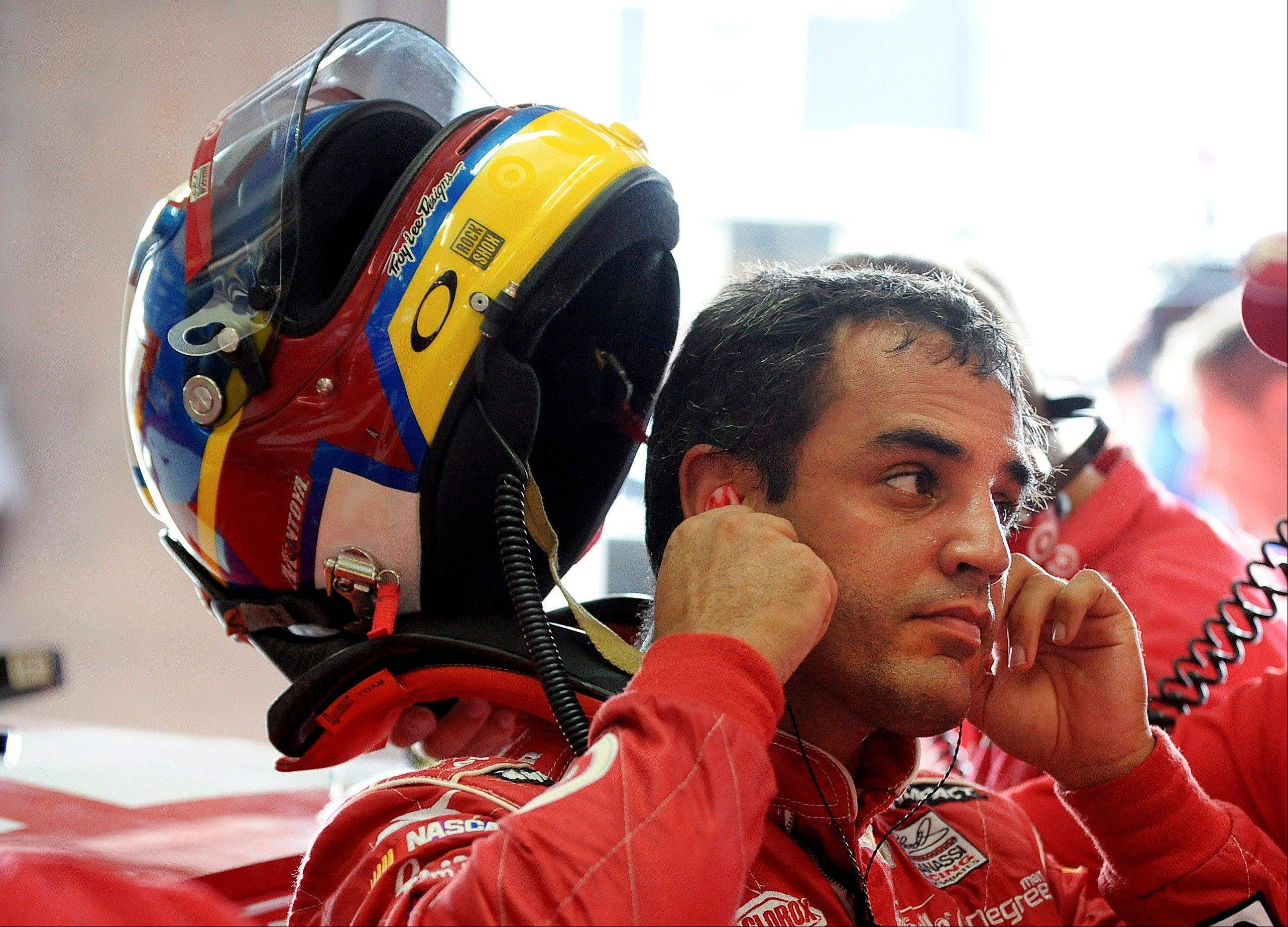 Juan Pablo Montoya won't be driving the Target car for Earnhardt Ganassi Racing next year.