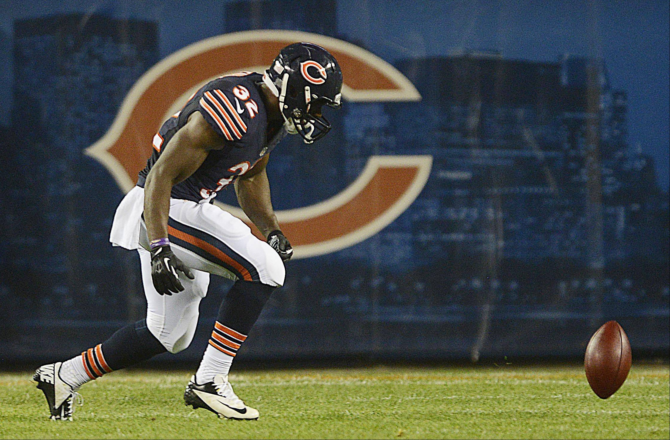 Running back Michael Ford will be chasing the football in a Bears uniform this season, having survived the cut Friday.