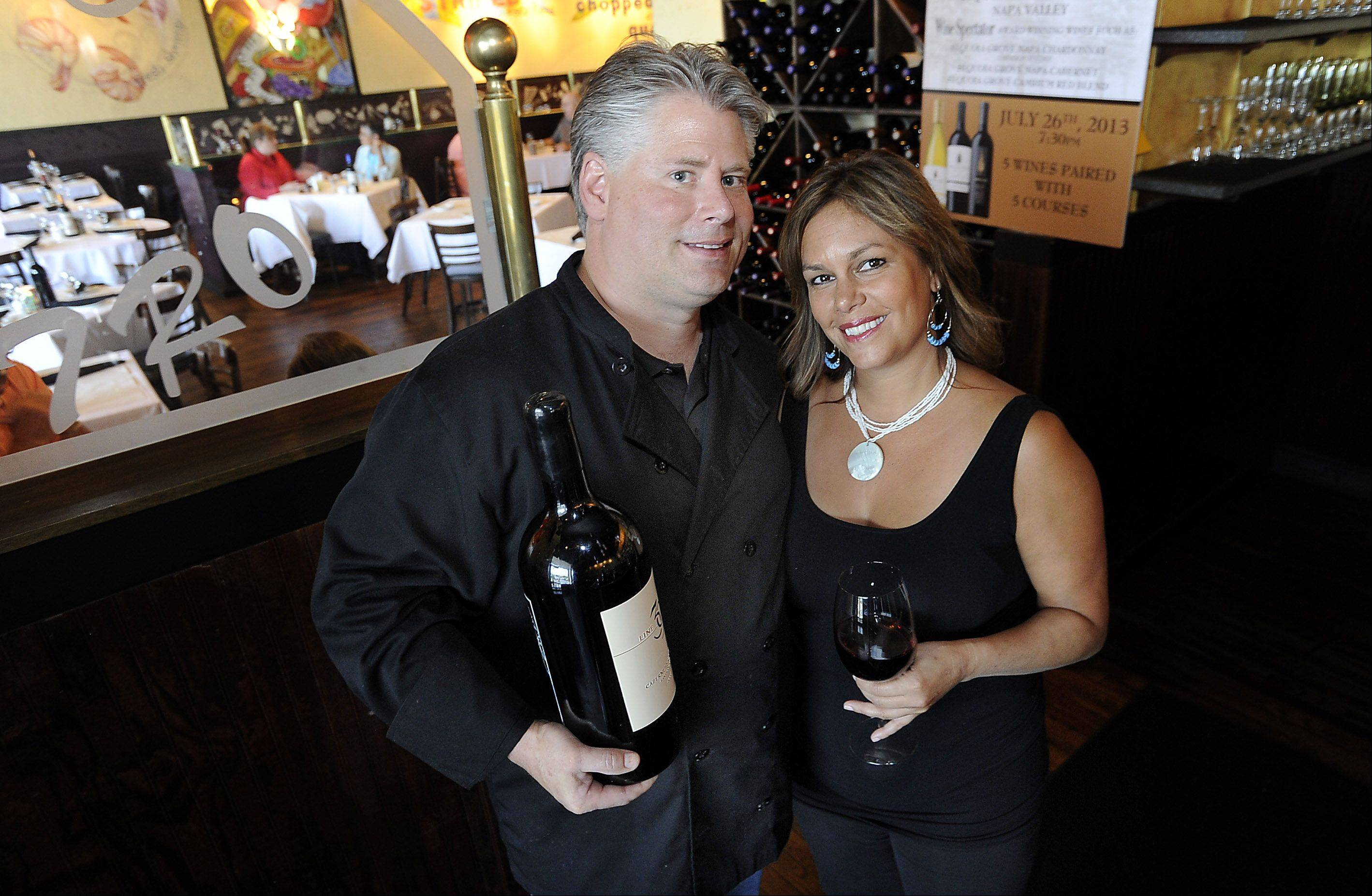 Christopher and Lorraine Barth met in culinary school and together opened Retro Bistro in Mount Prospect 23 years ago.