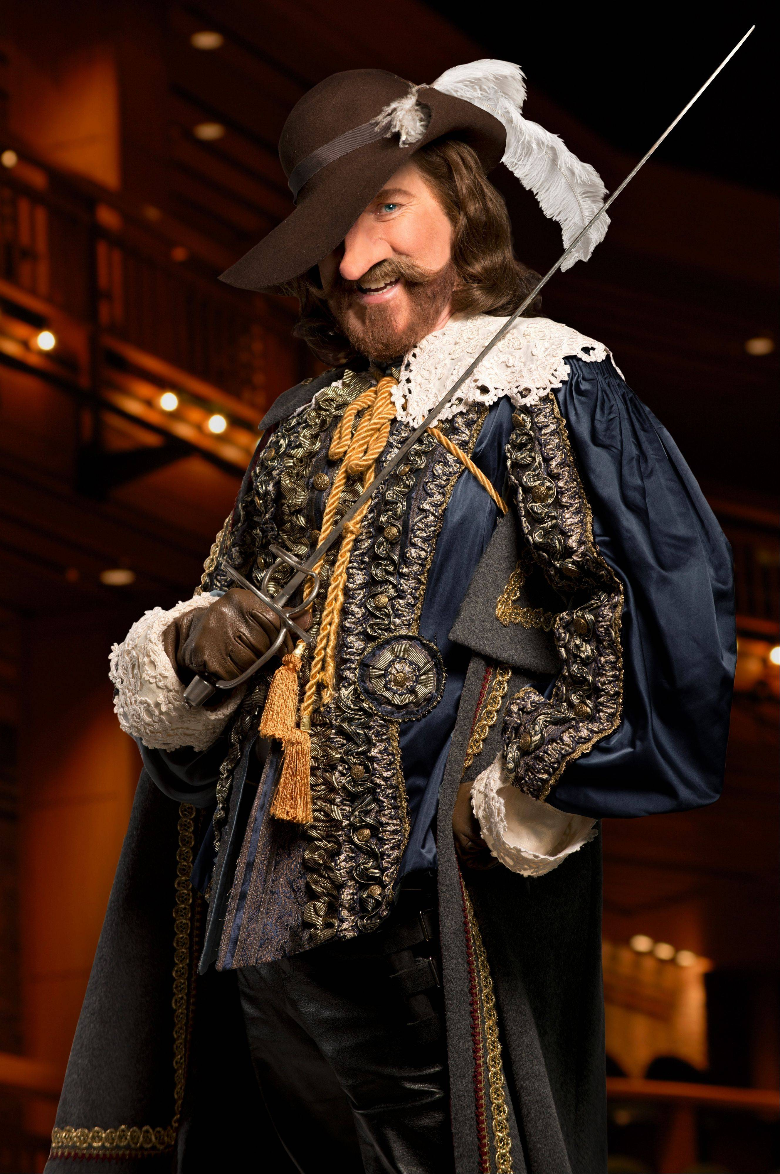 "Harry Groener stars as the titular ""Cyrano de Bergerac,"" in Chicago Shakespeare Theater's production of Edmond Rostand's romantic swashbuckler."
