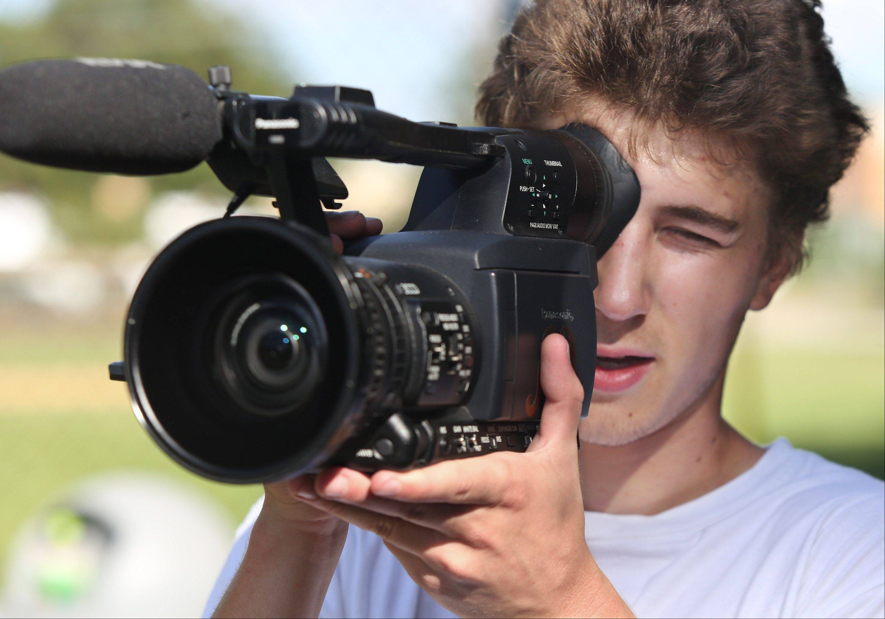 Videographer Max Kollman shoots video of street skateboarders and posts them on YouTube. His love of skating started when he was much younger, but eventually he found it more rewarding to document other skaters and create videos with the footage.