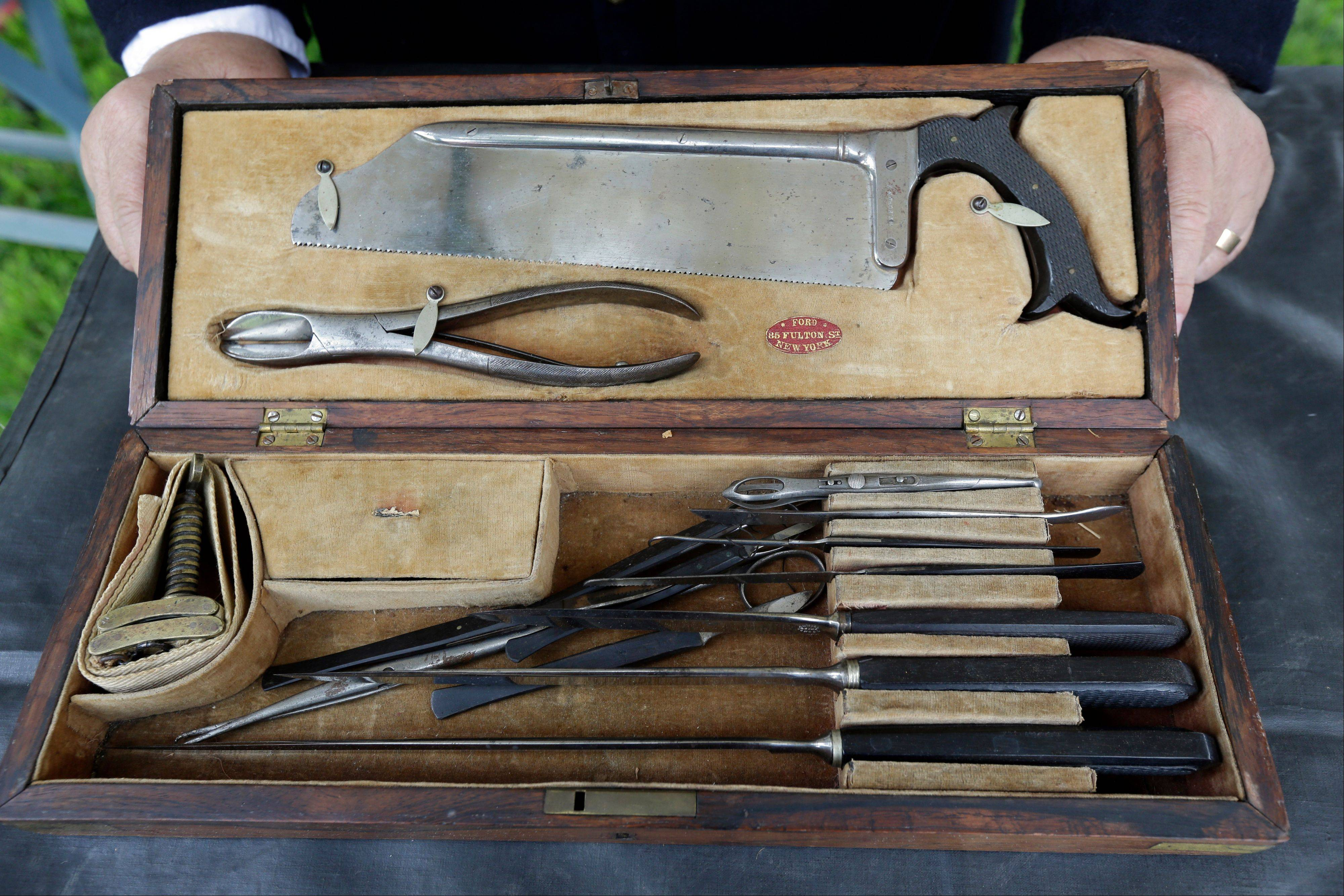 Medical instruments from the Civil War era will be on display at the Batavia Depot Museum the weekend of Sept. 7-8.