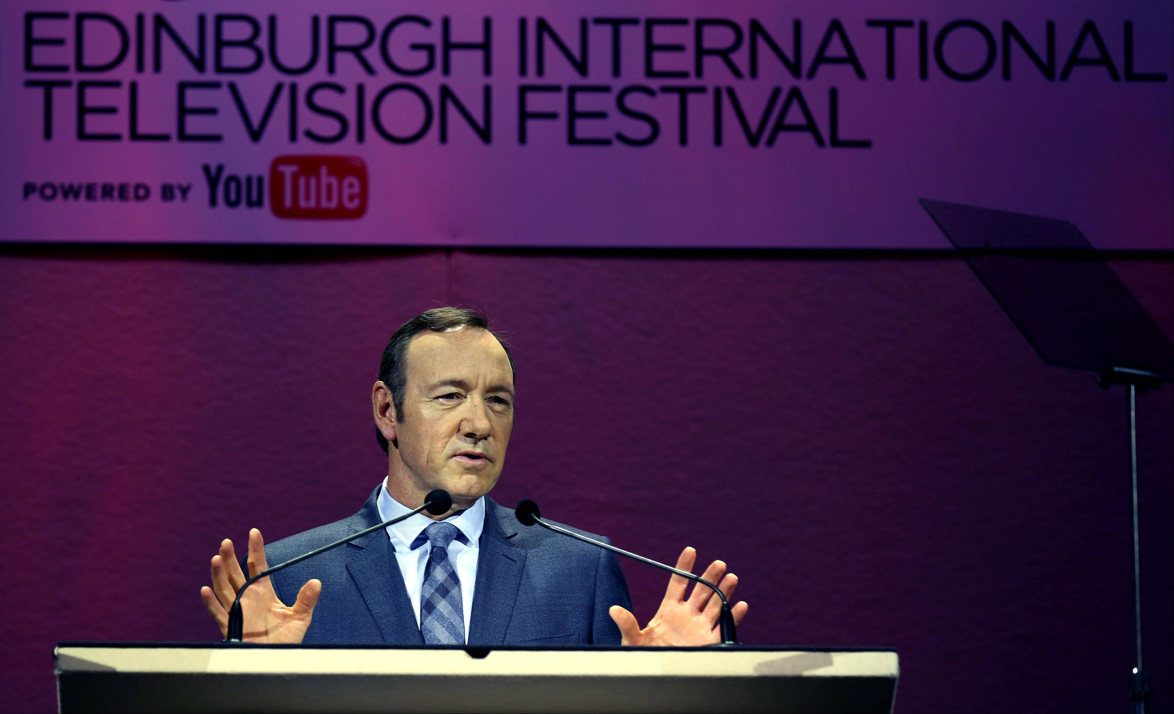 Double-Oscar winner Kevin Spacey says television has overtaken cinema as the home of quality character-driven drama.