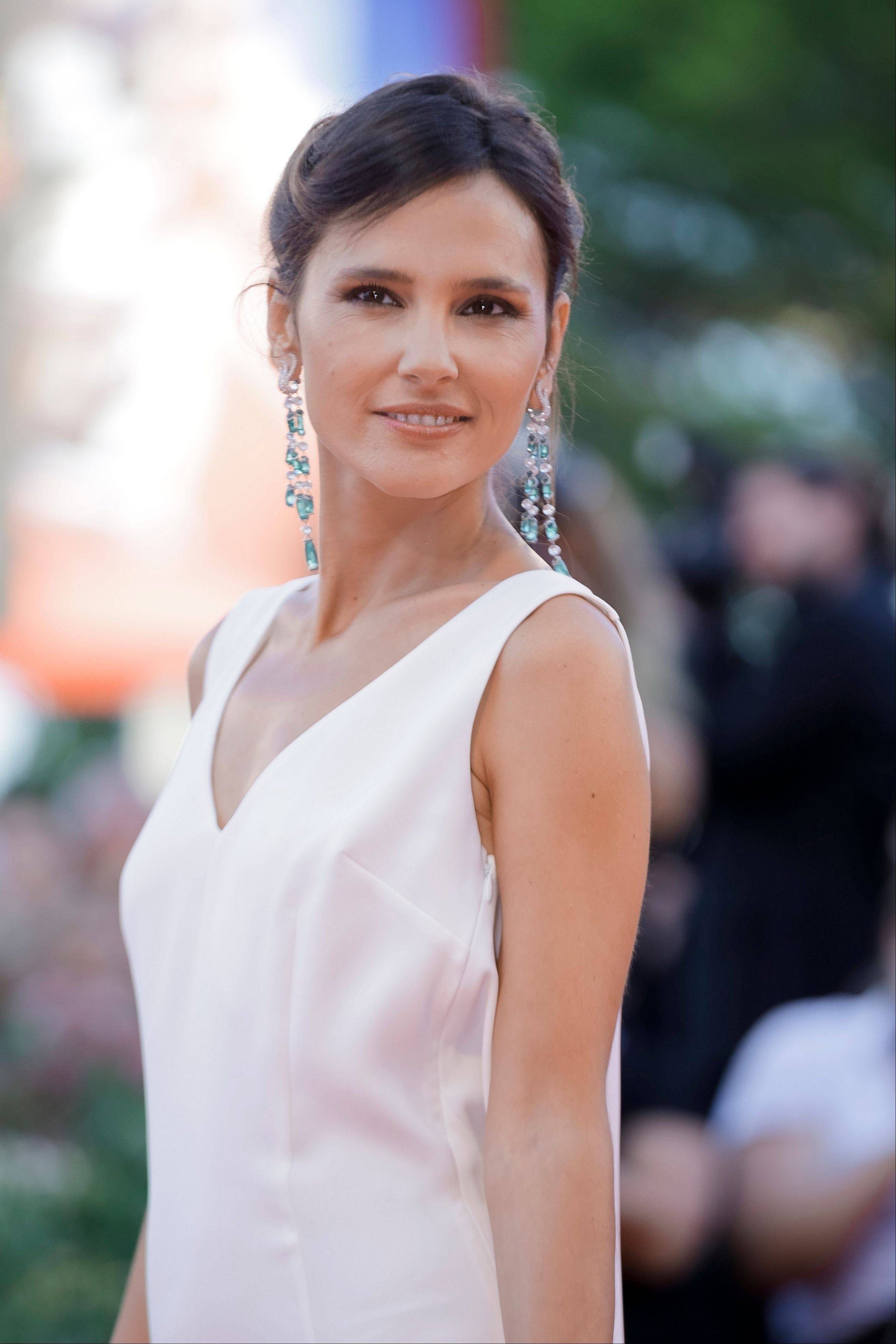 "Actress and Venezia 70 jury member Virginie Ledoyen arrives for the screening of the opening film ""Gravity"" at the 70th edition of the Venice Film Festival."