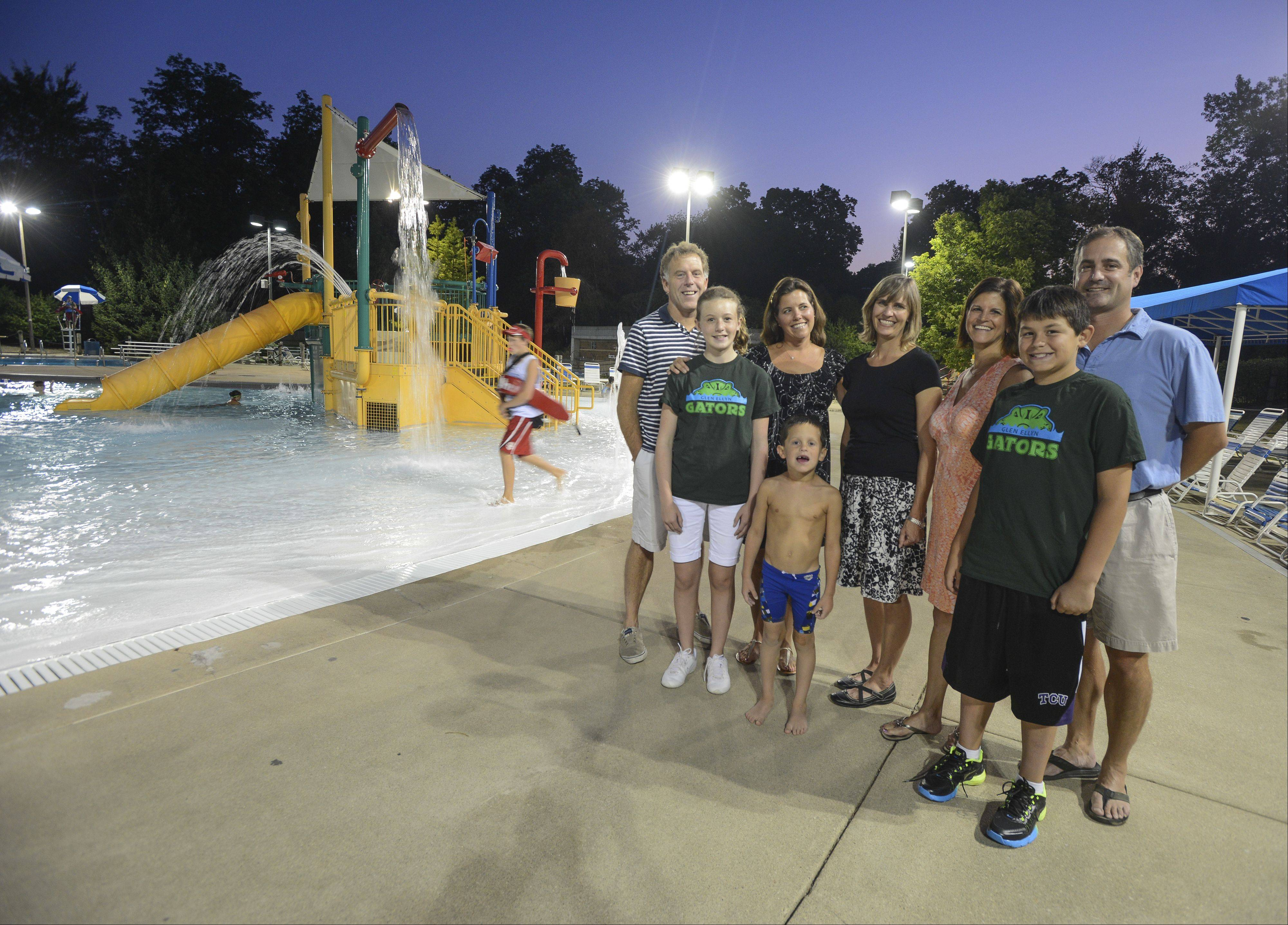 A community group called the Glen Ellyn Aquatics Initiative raised $20,000 to fund a feasibility study that will explore the possibility of an indoor, year-round pool in Glen Ellyn. Right now, the only public pool operated by the park district is Sunset Pool, an outdoor facility only open during the summer.