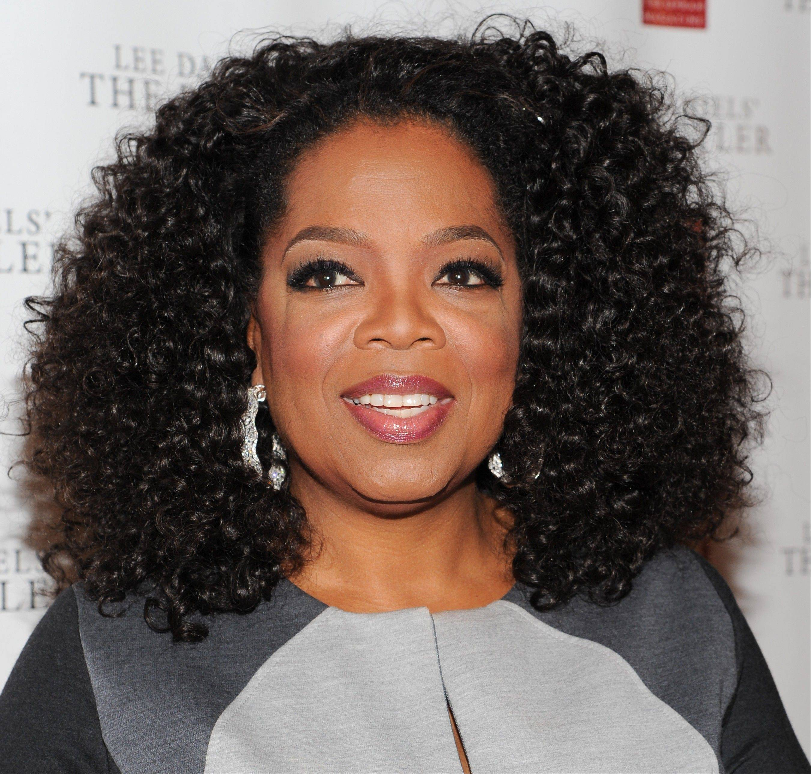 Media mogul and actress Oprah Winfrey's OWN channel is in the black for the first time since its rocky start.