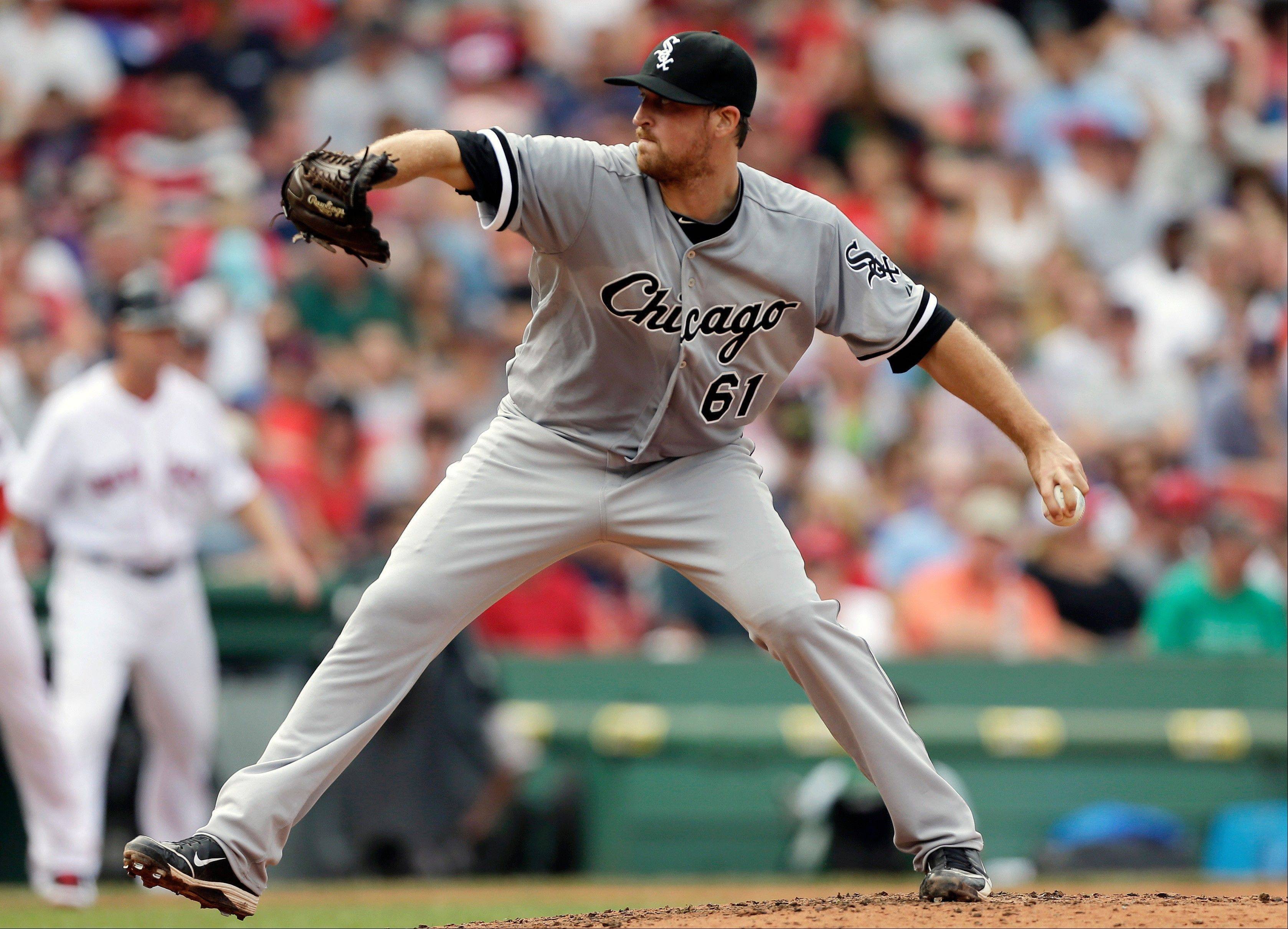 Charlie Leesman, who bailed out White Sox starter Andre Rienzo on Sunday, could be a strong candidate to fill the role of long reliever next season.