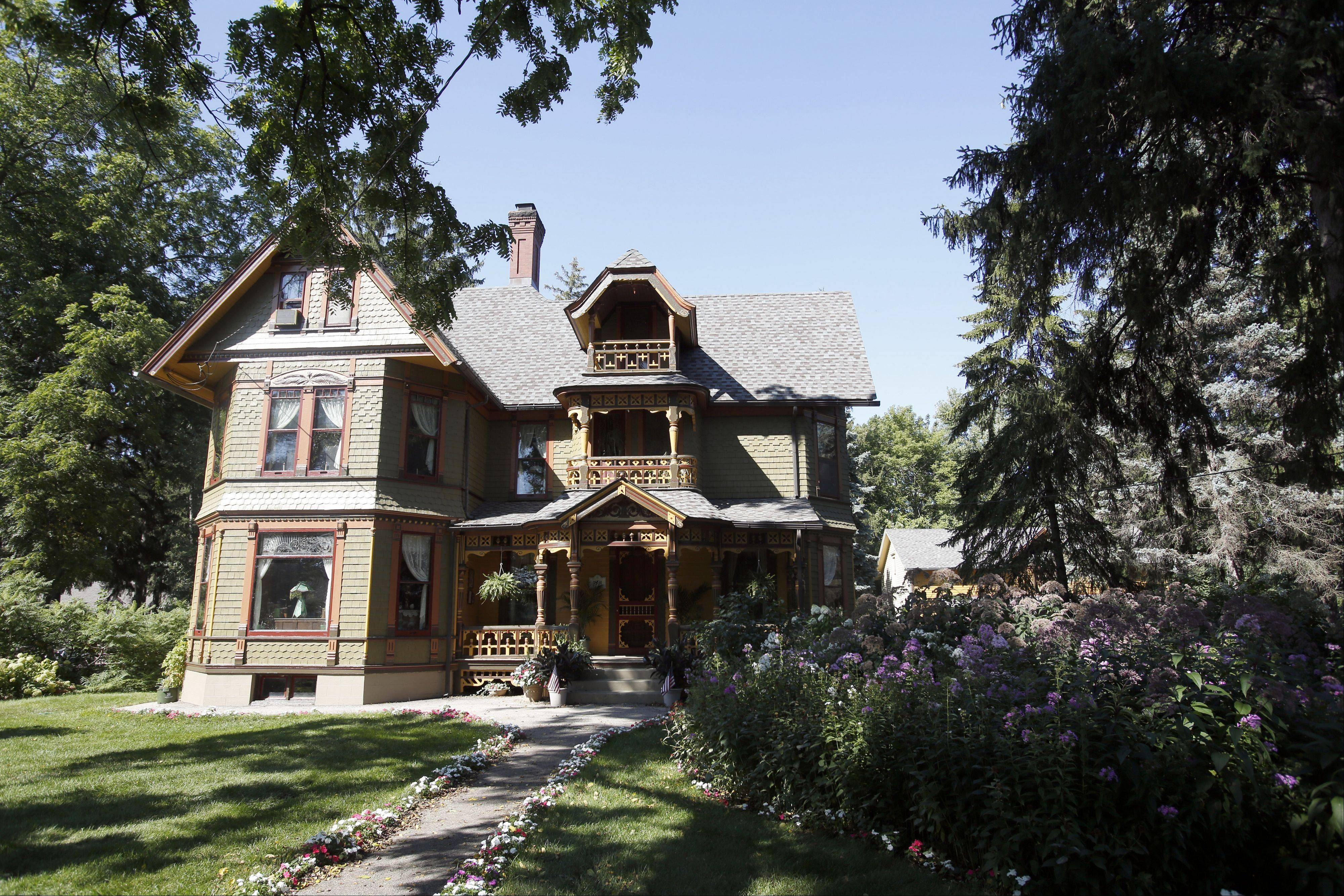 "The Wing Mansion at 972 W. Highland Ave., Elgin, has been called ""the belle of the ball"" of the 32nd annual Historic Elgin House Tour. The tour features the near west side of the city."