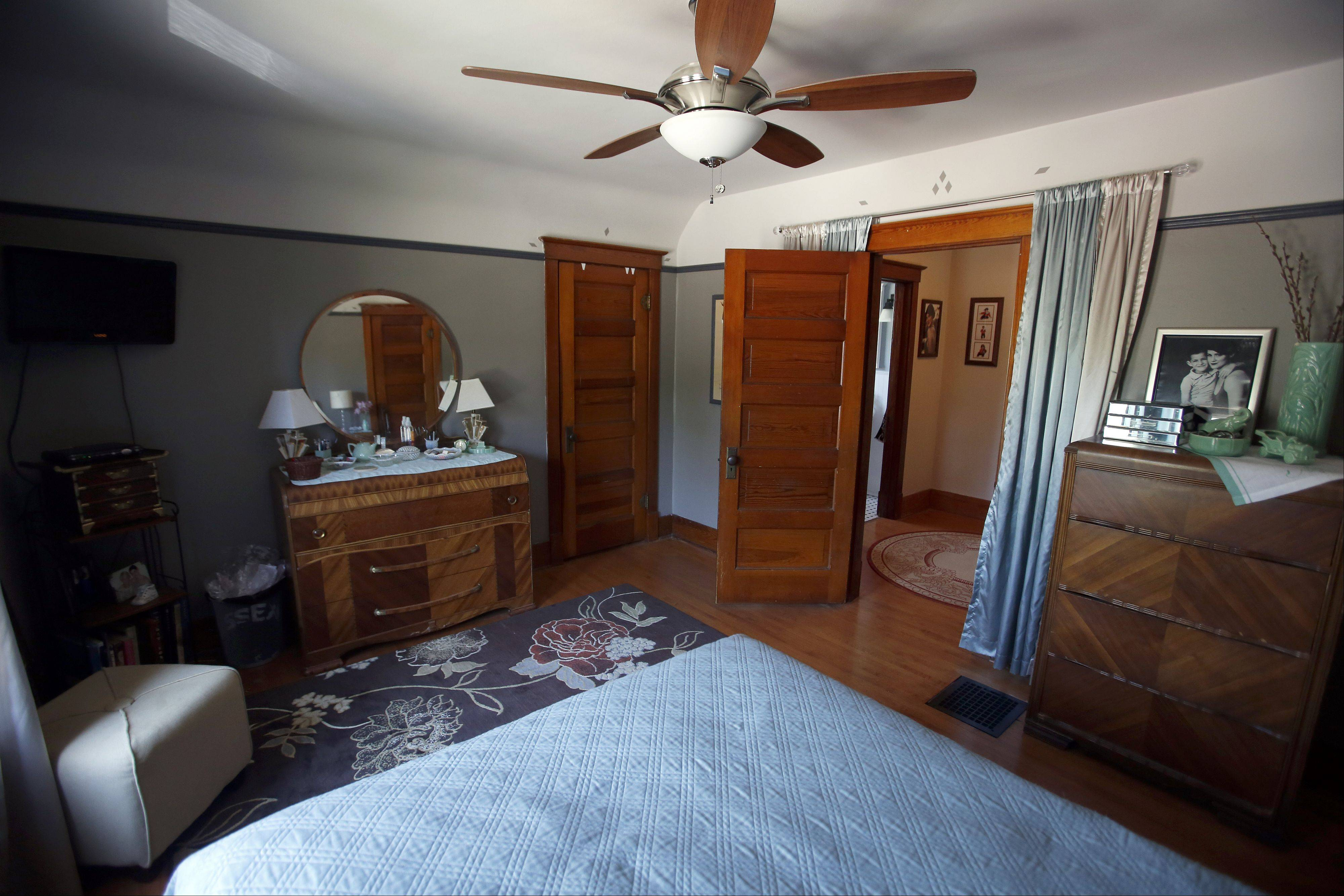 The master bedroom of 439 W. Chicago St., Elgin, which will be one of the stops on the 32nd annual Historic Elgin House Tour.