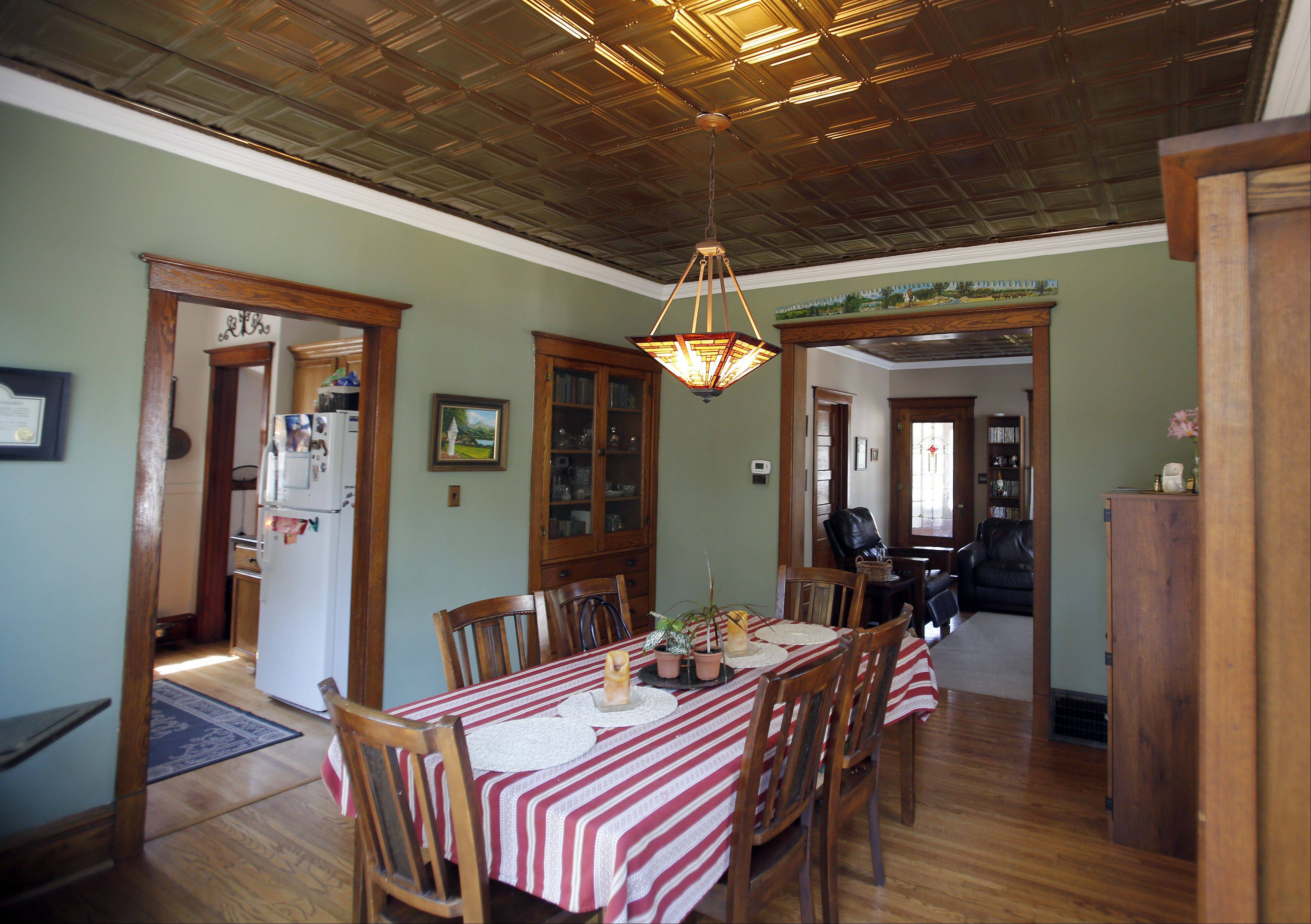The dining room of 439 W. Chicago St., Elgin, will be one of the stops on the 32nd annual Historic Elgin House Tour. The tour will feature Elgin's near west side.