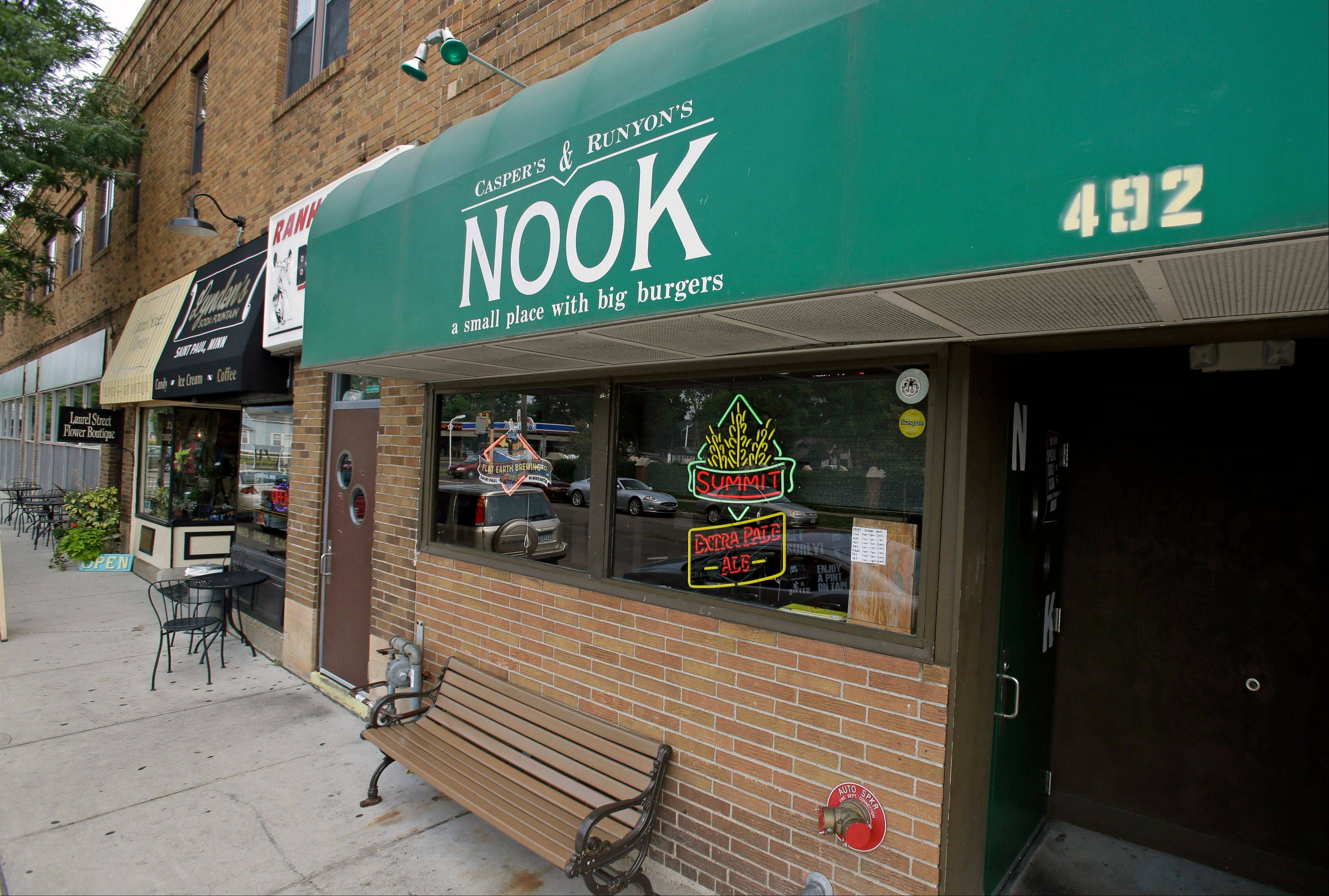 The Noo is a popular burger joint in residential St. Paul, Minn.