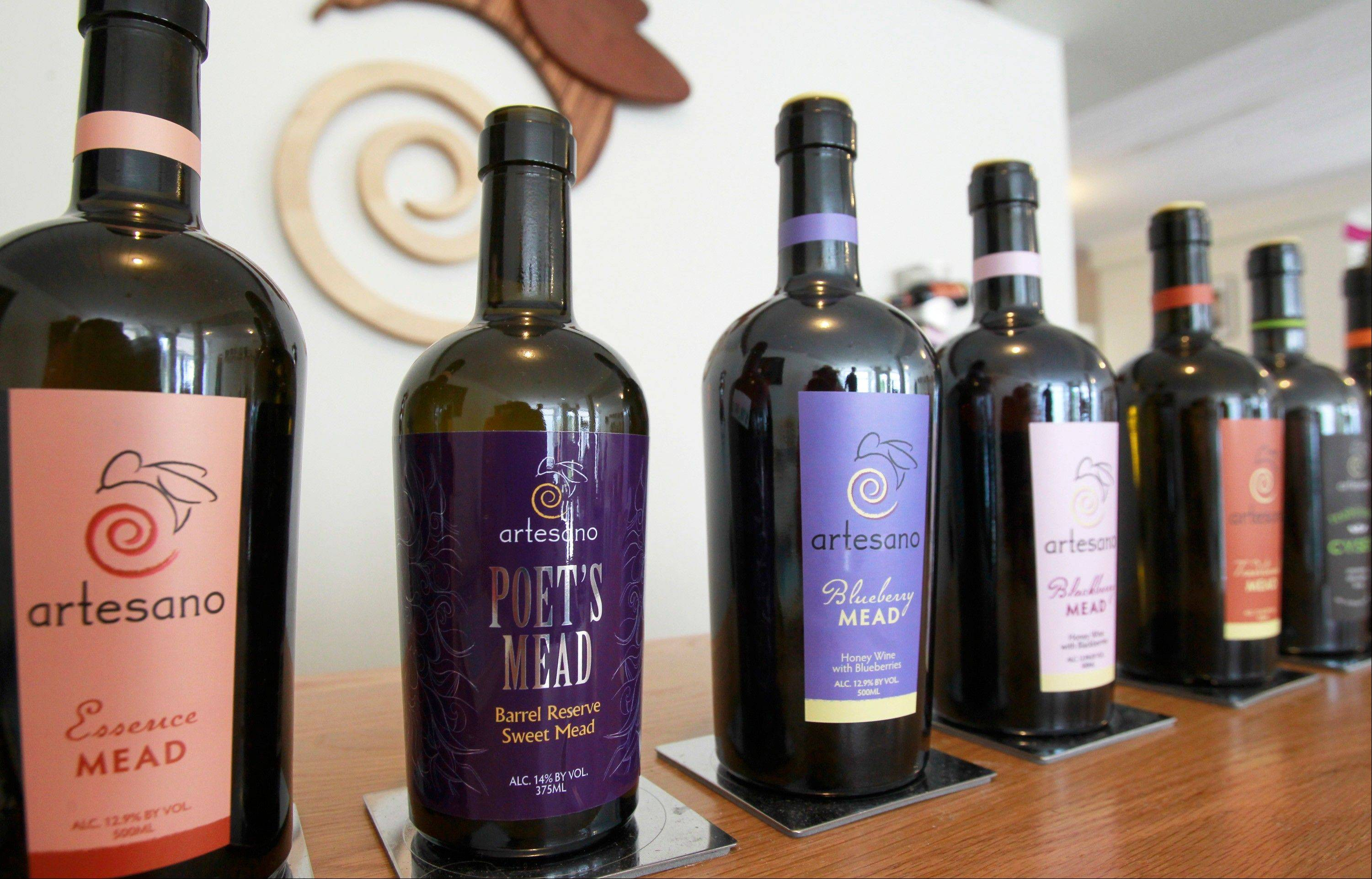 Beekeepers, vintners rediscover nectar of the gods