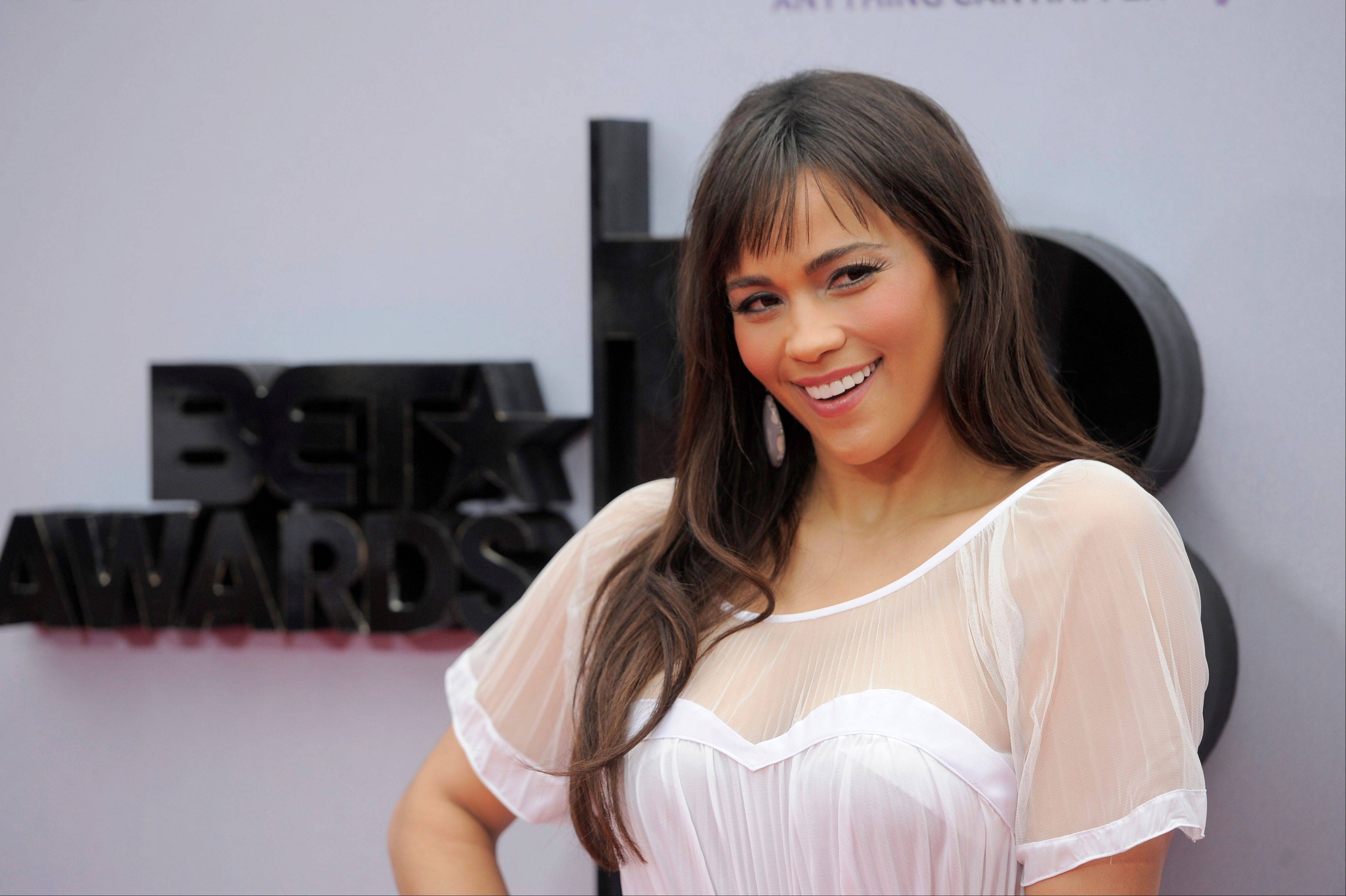 "Paula Patton is busy promoting her second film this year, the upcoming romantic comedy ""Baggage Claim."""