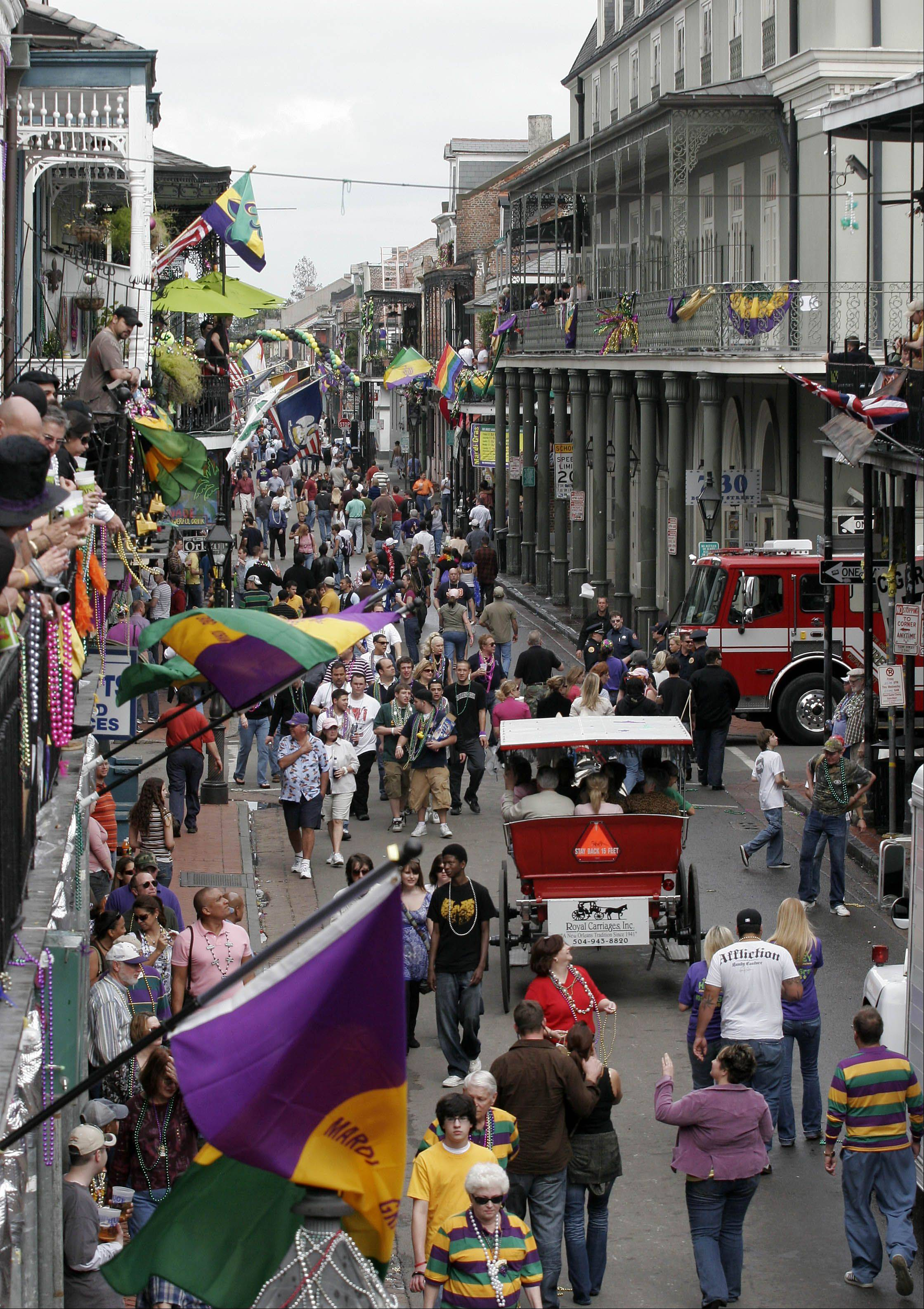 The city of New Orleans will draw thousands of gay couples for Southern Decadence week.
