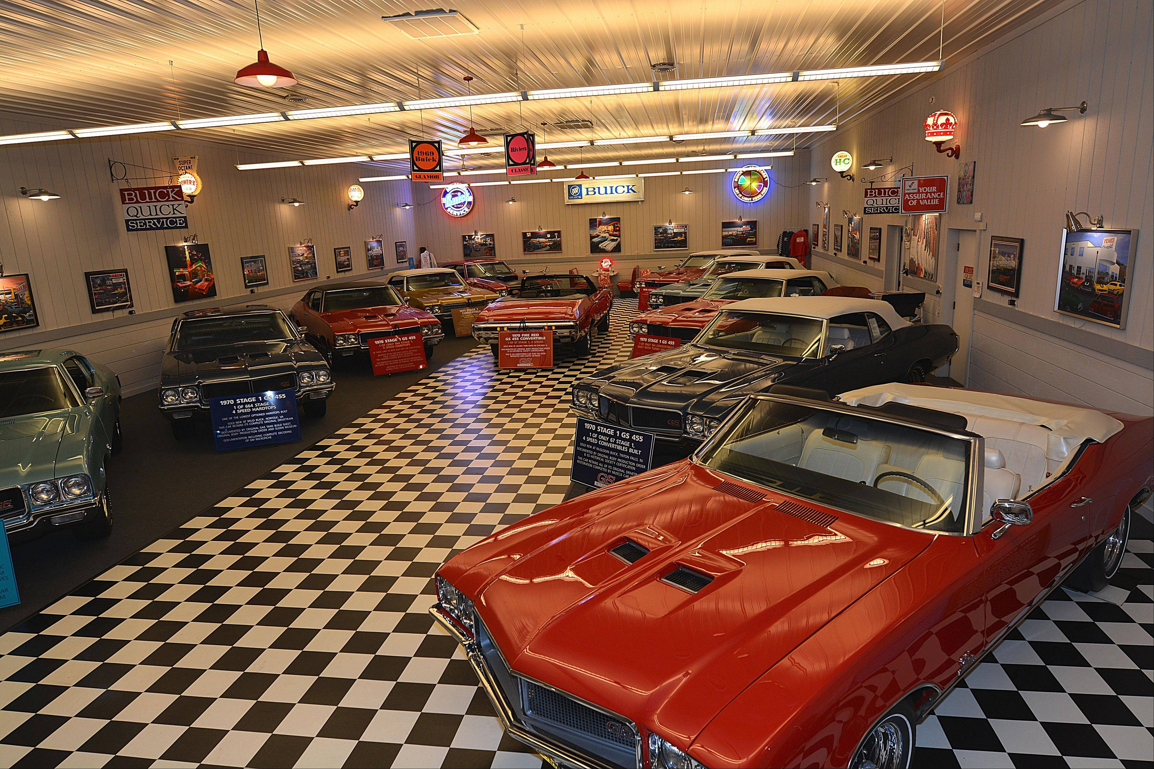 The couple's collection currently consists of 17 rare V-8 bruisers, all Buicks dating from 1969-72.