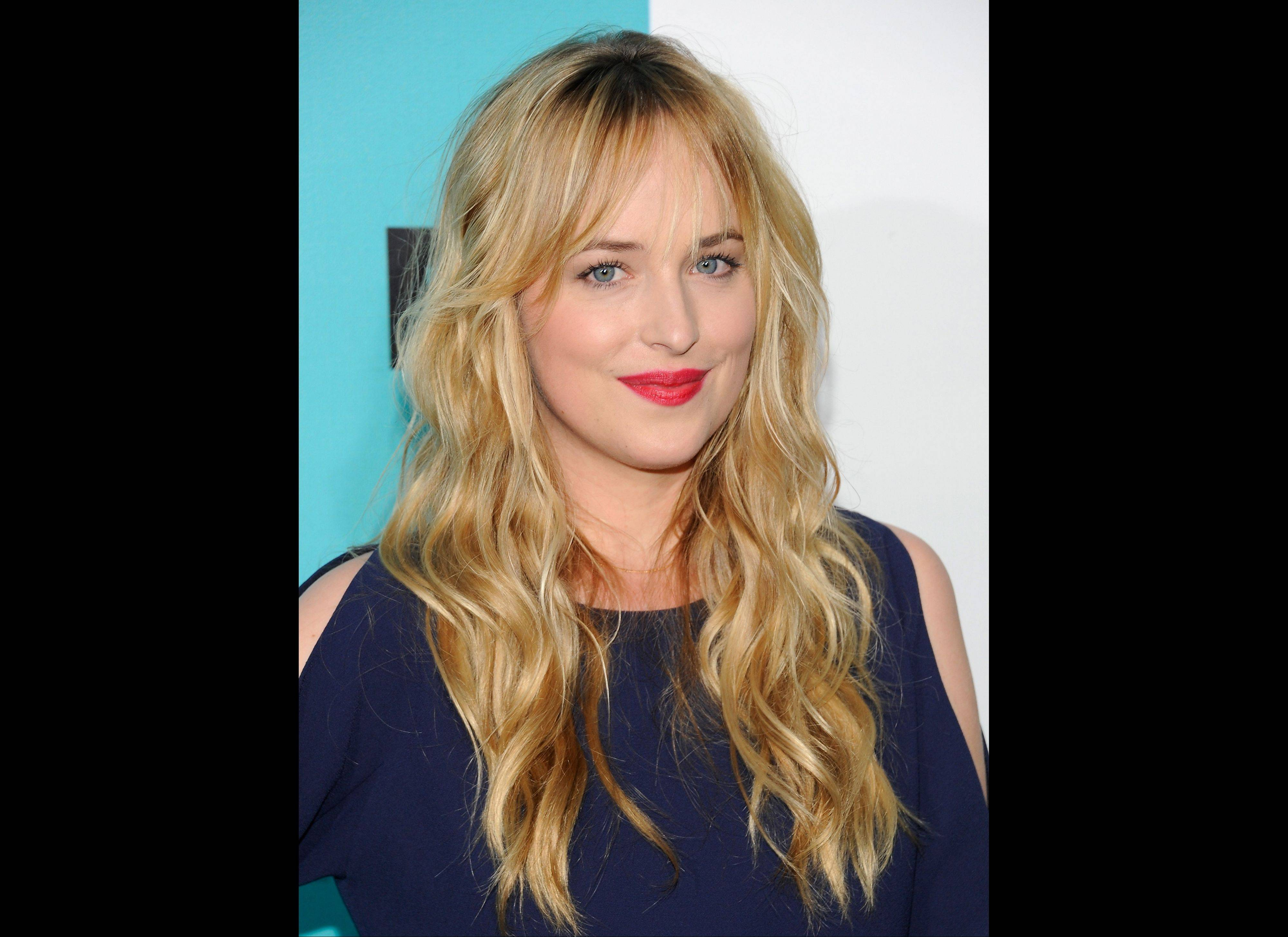 "Actress Dakota Johnson, the daughter of Don Johnson and Melanie Griffith, will play Anastasia Steele in the movie adapation of E L James' ""Fifty Shades of Grey."""