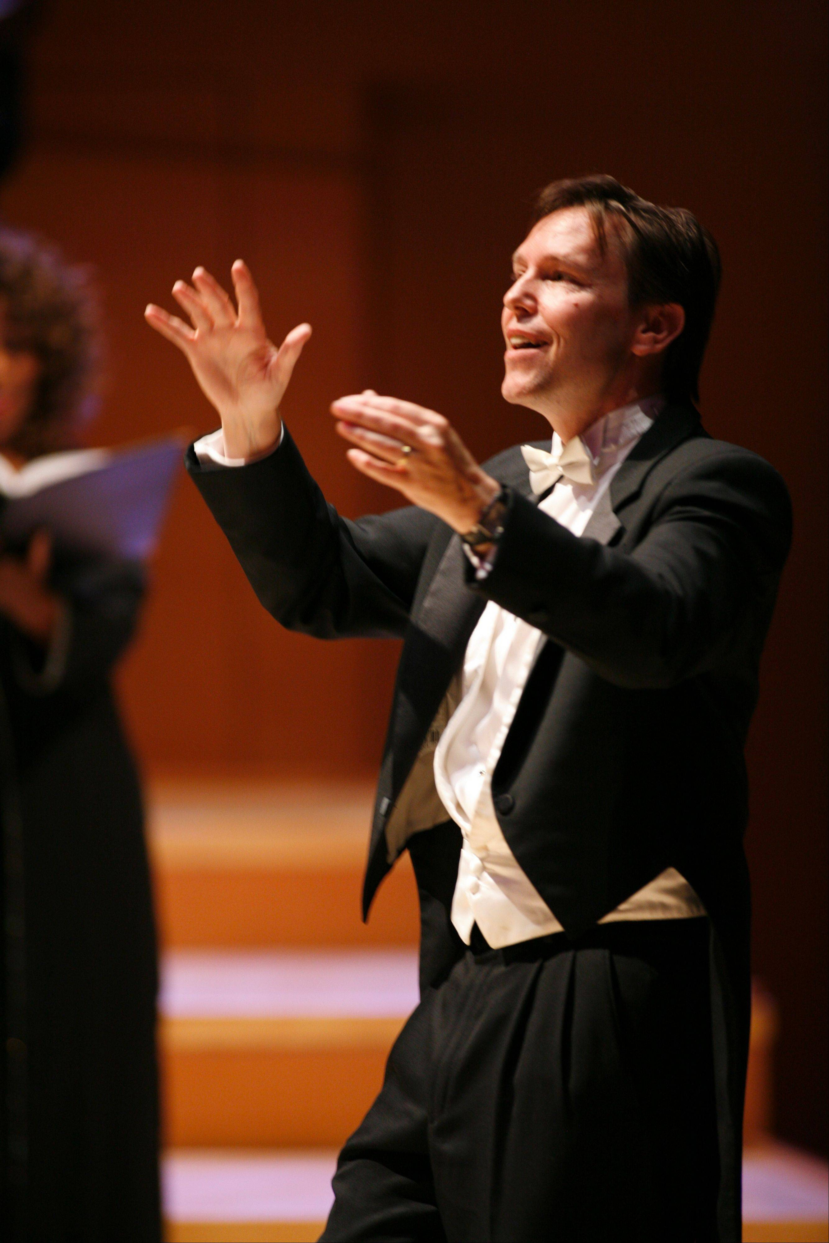 "Grant Gershon will conduct the Los Angeles Master Chorale and the Chicago Philharmonic Orchestra in the Midwest premiere of John Adams' ""The Gospel According to the Other Mary"" at the Ravinia Festival in Highland Park."