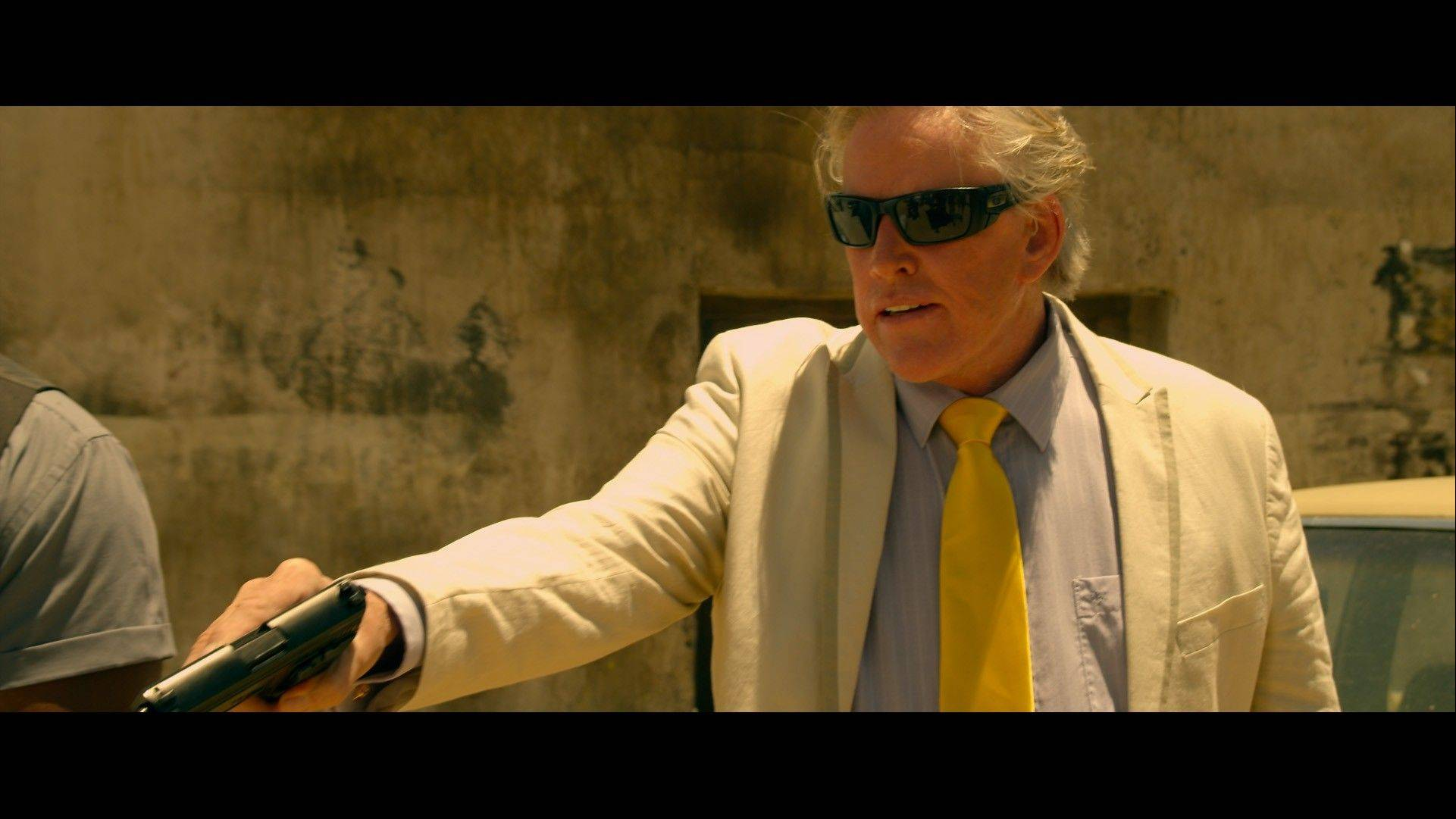 "Gary Busey plays a hitman in Colin Ebeling's first feature production, ""Bounty Killer."""
