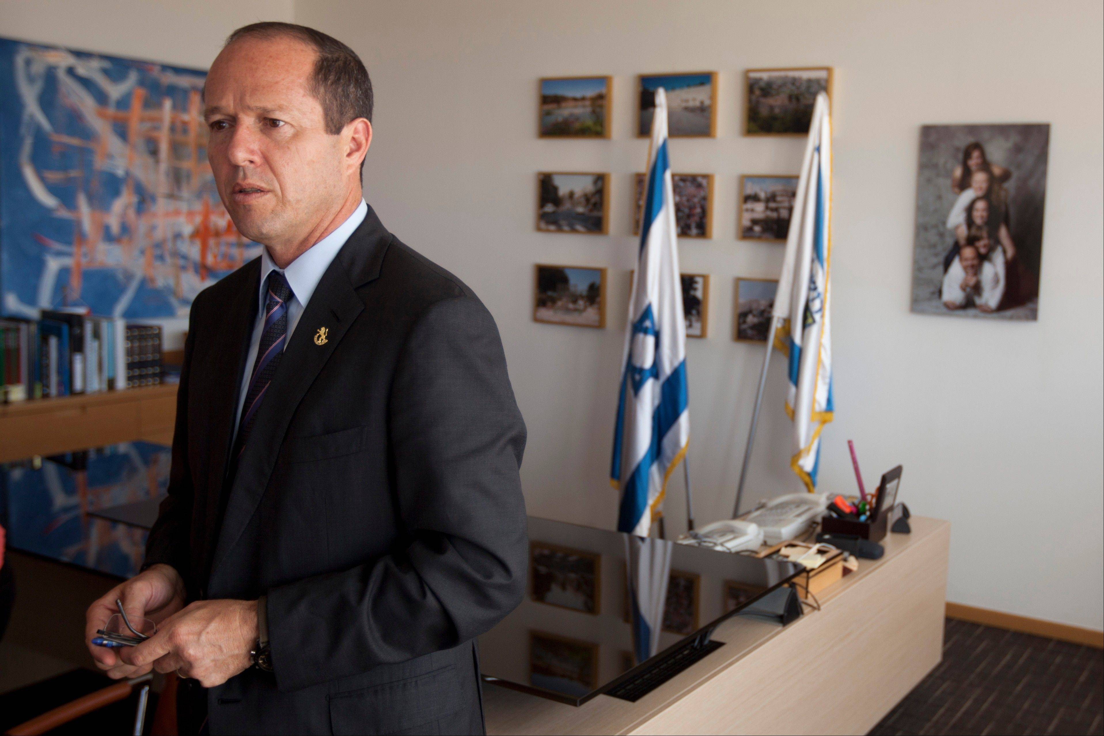 Jerusalem Mayor Nir Barkat said any partition of the city as part of a future peace agreement will not work, insisting only a united city could function and thrive.