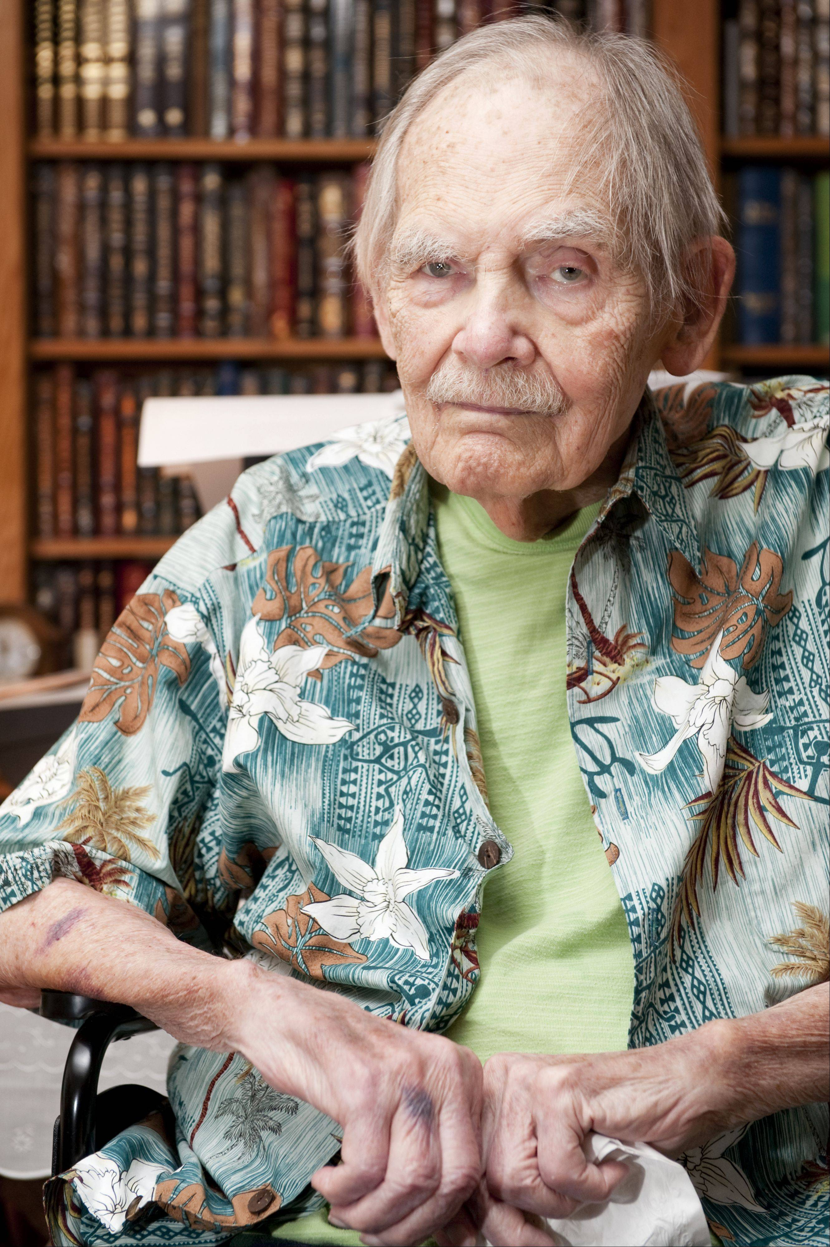Science-fiction author Frederik Pohl, 93, of Palatine died Monday.