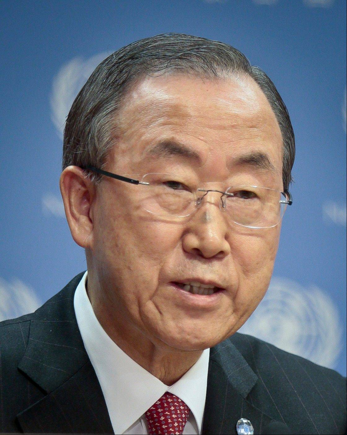 "U.N. Secretary General Ban Ki-moon Ban warned Tuesday that any ""punitive"" action taken against Syria for an alleged chemical weapons attack could unleash more turmoil."