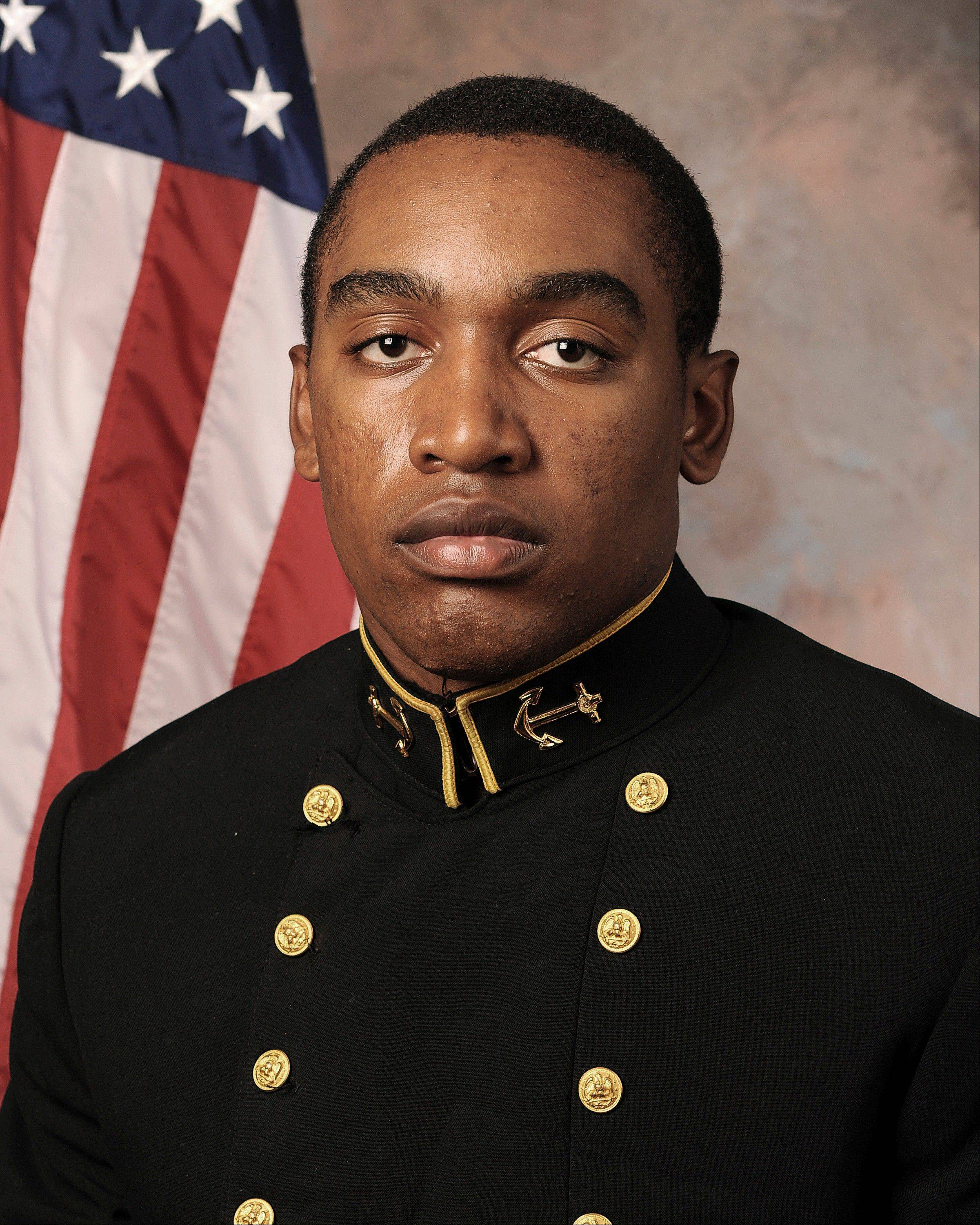 Midshipman Tre'ves Bush