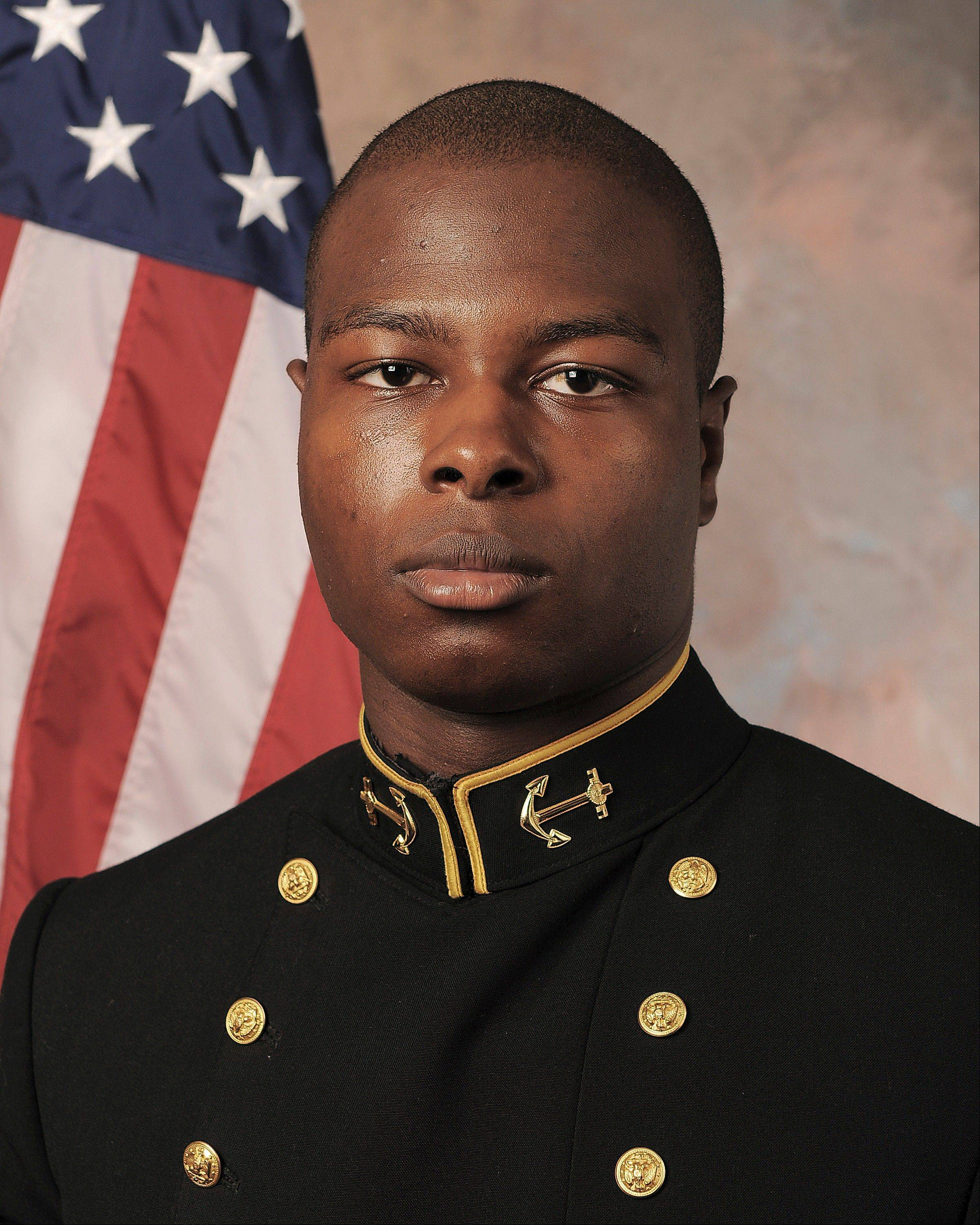 Midshipman Eric Graham